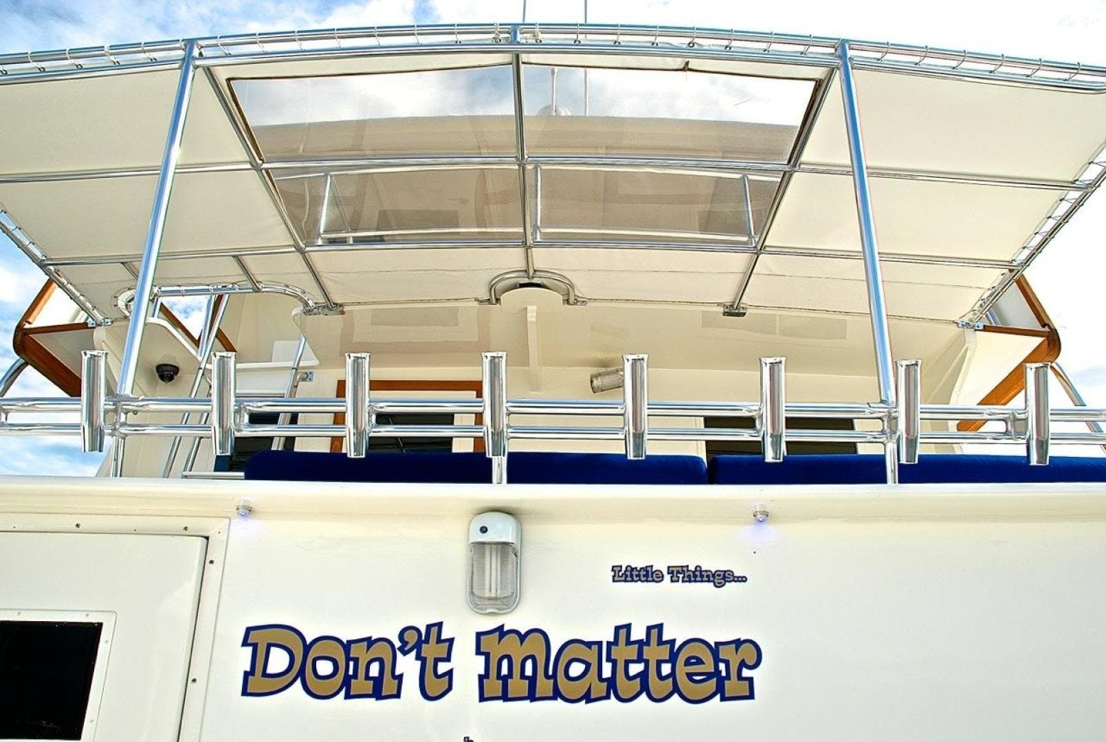2001 Infinity 74' Cockpit Motor Yacht Don't Matter | Picture 6 of 57