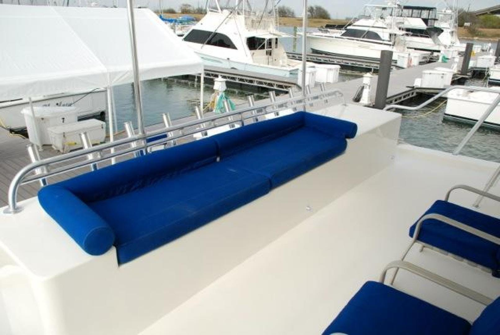 2001 Infinity 74' Cockpit Motor Yacht Don't Matter | Picture 8 of 57