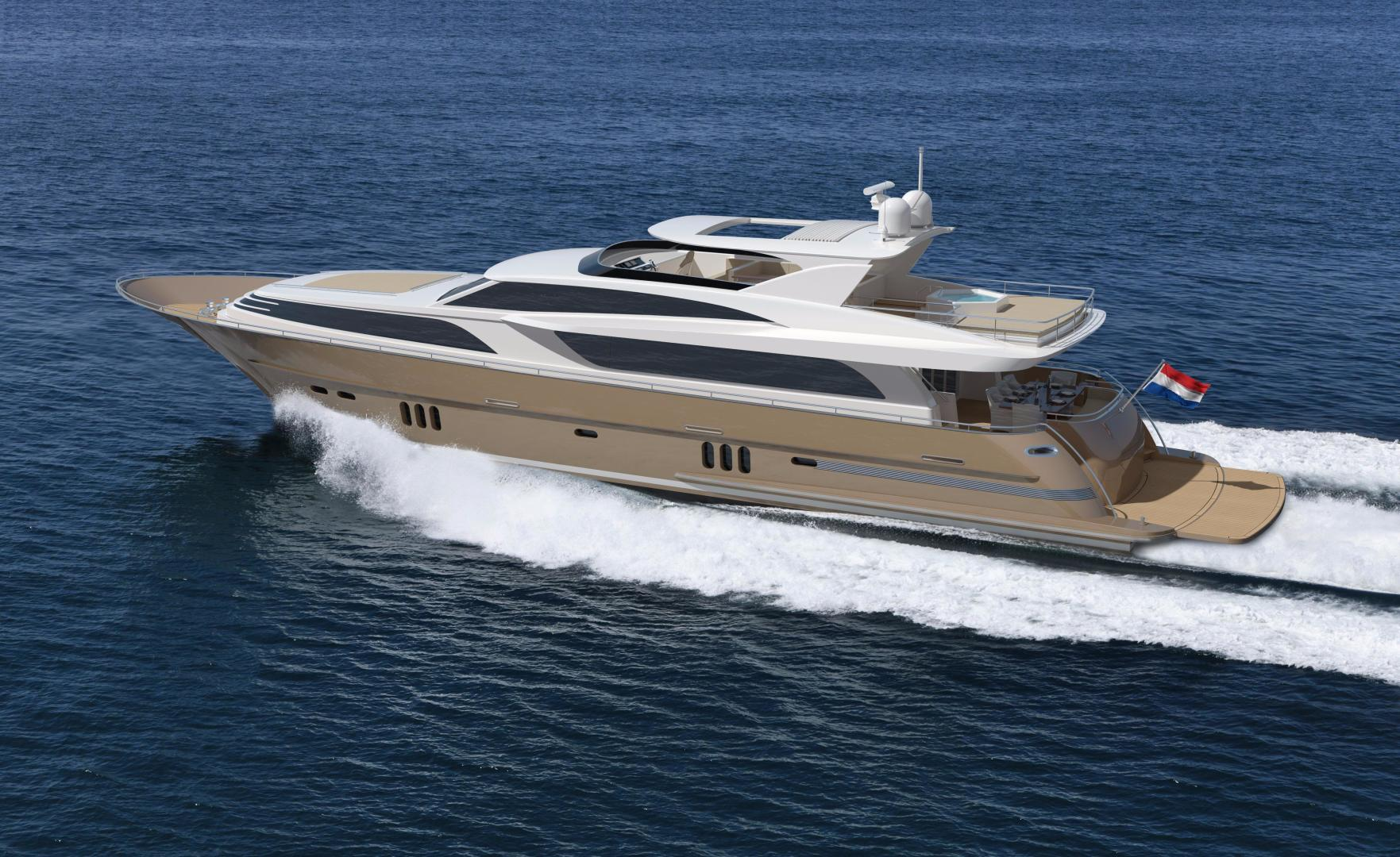 2021 Van der Valk 112' Raised Pilothouse 35M