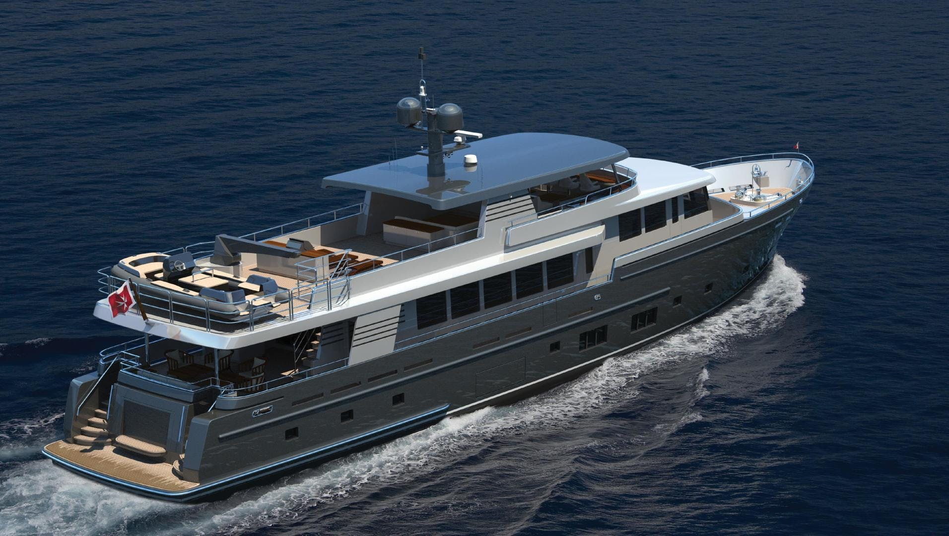 2021 Van der Valk 121' Explorer 37M  | Picture 4 of 57