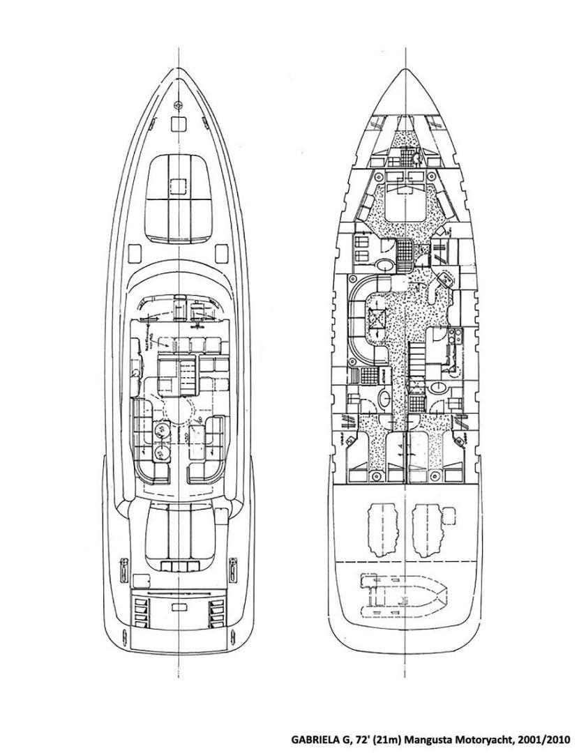 2001 Overmarine-Mangusta 72'  GABRIELA G | Picture 5 of 13