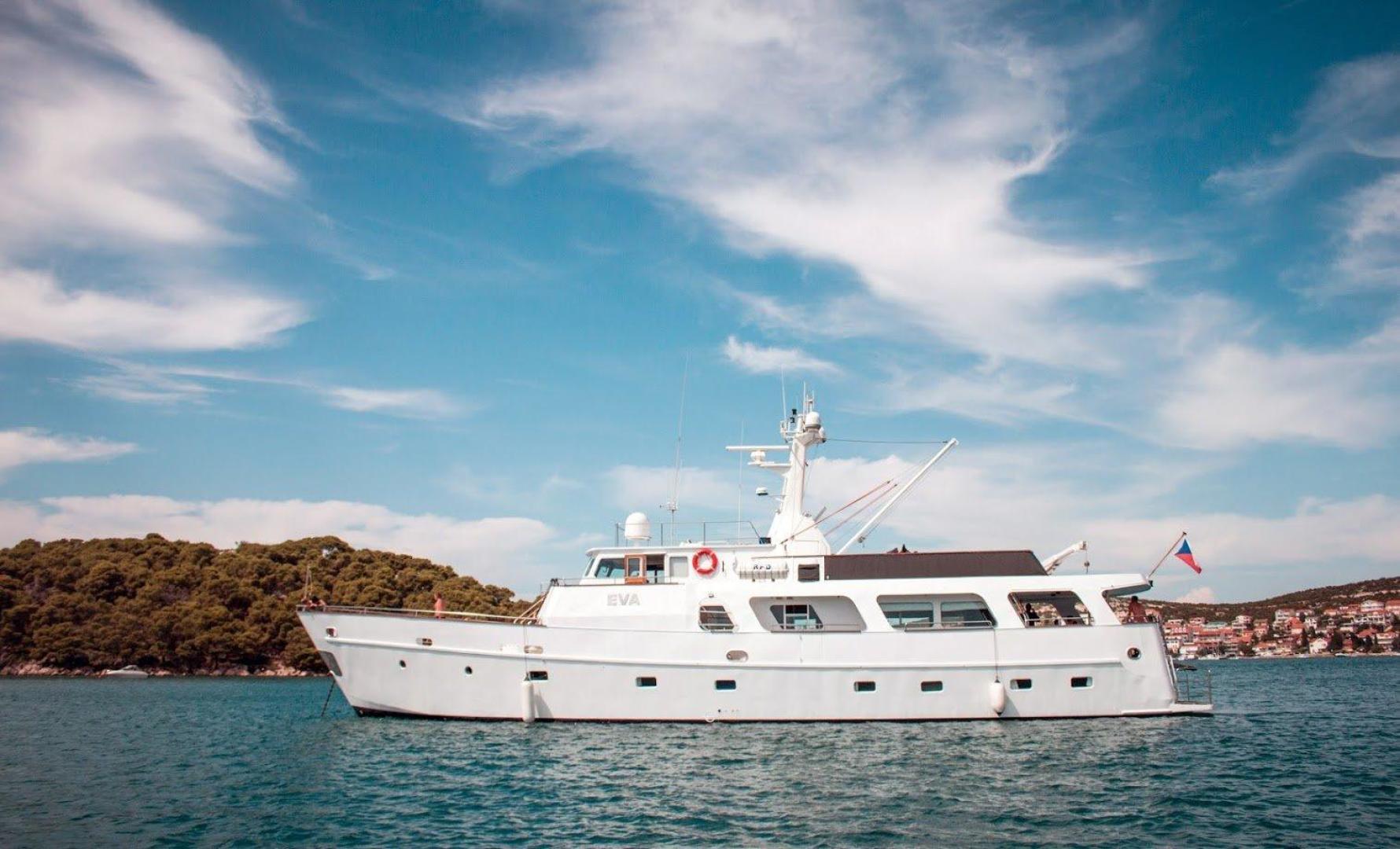 "1985 Torpoint Steel Boats 88' Motor Yacht ""EVA"""