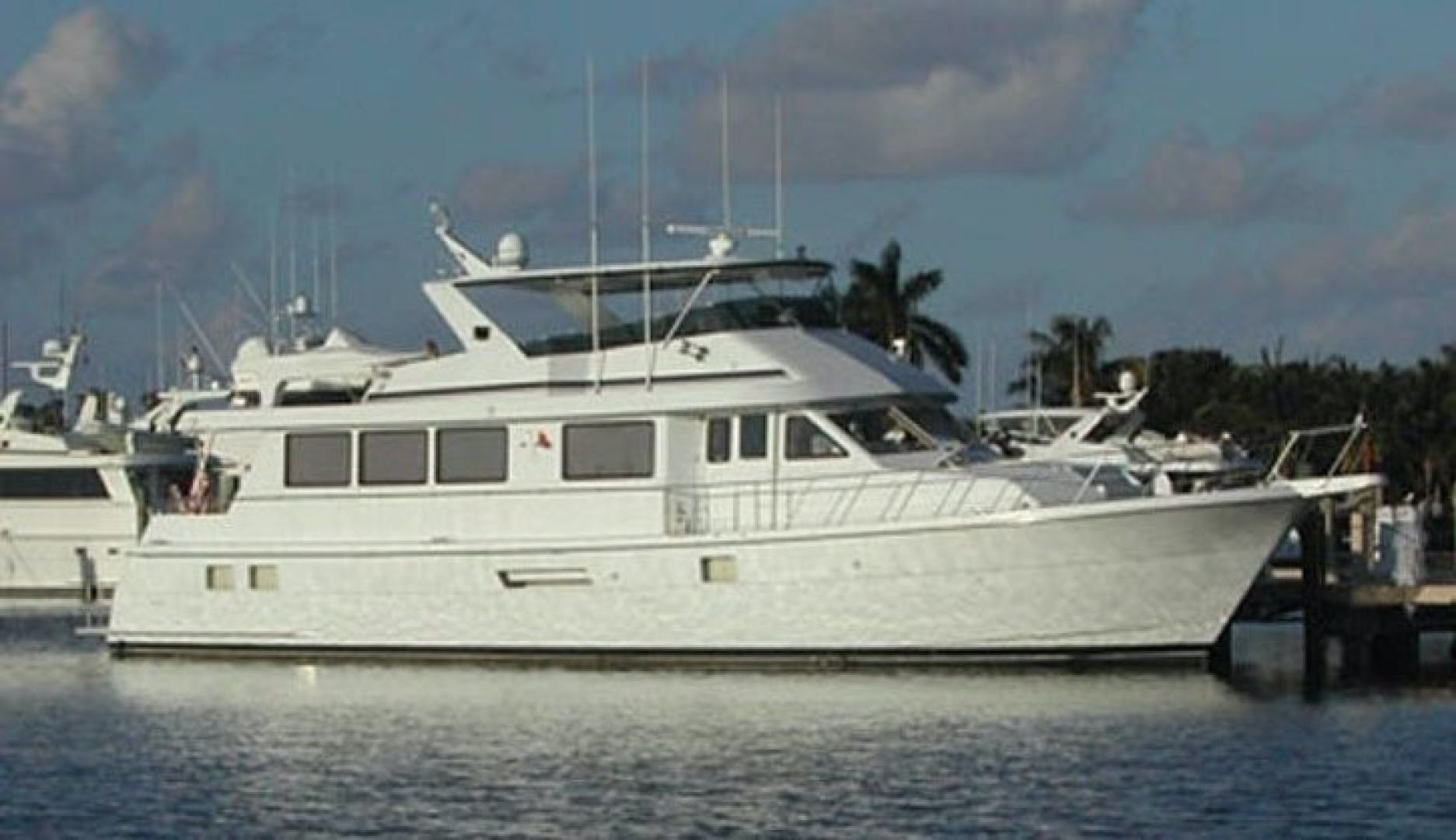 1998 Hatteras 74' Sport Deck WHALE'S WAY | Picture 1 of 1