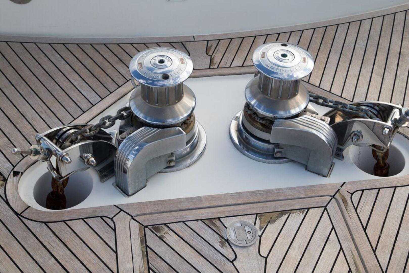 2003 Ferretti Yachts 94' 94 Flybridge Tomorrow We Ride | Picture 8 of 50