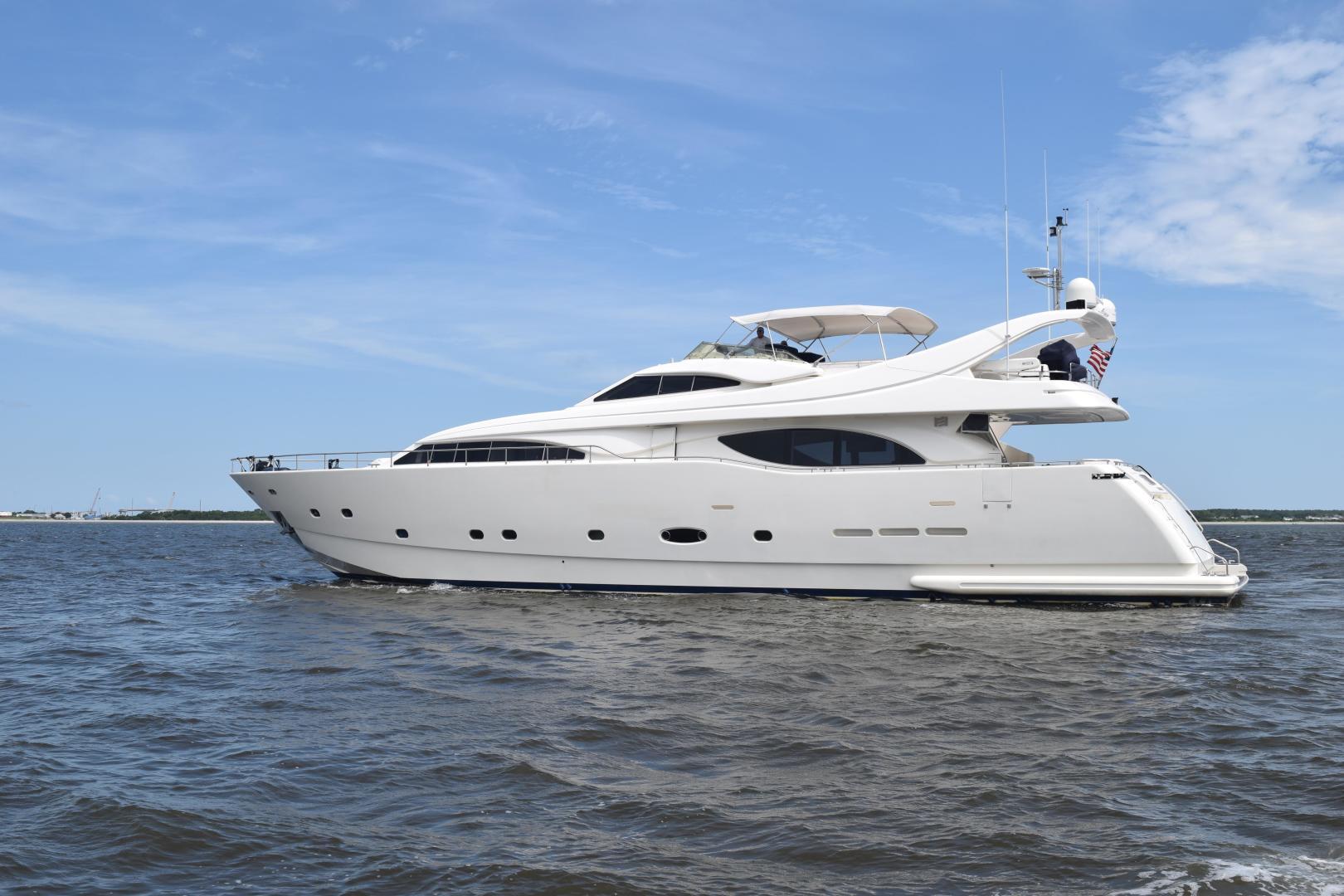 """2003 Ferretti Yachts 94' 94 Flybridge """"Tomorrow We Ride"""""""