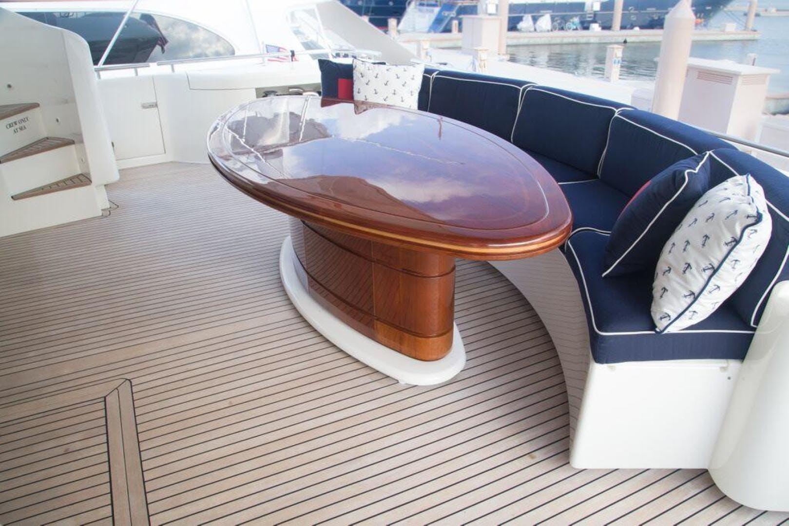 2003 Ferretti Yachts 94' 94 Flybridge Tomorrow We Ride | Picture 3 of 50