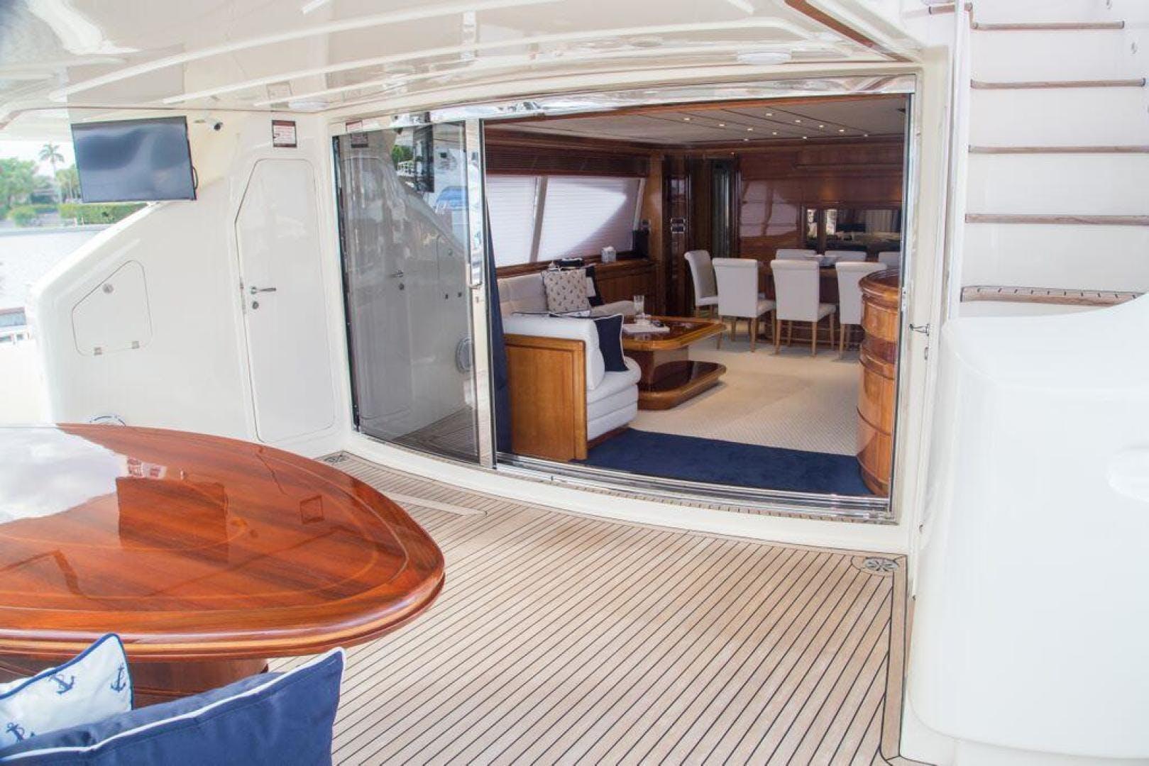 2003 Ferretti Yachts 94' 94 Flybridge Tomorrow We Ride | Picture 2 of 50