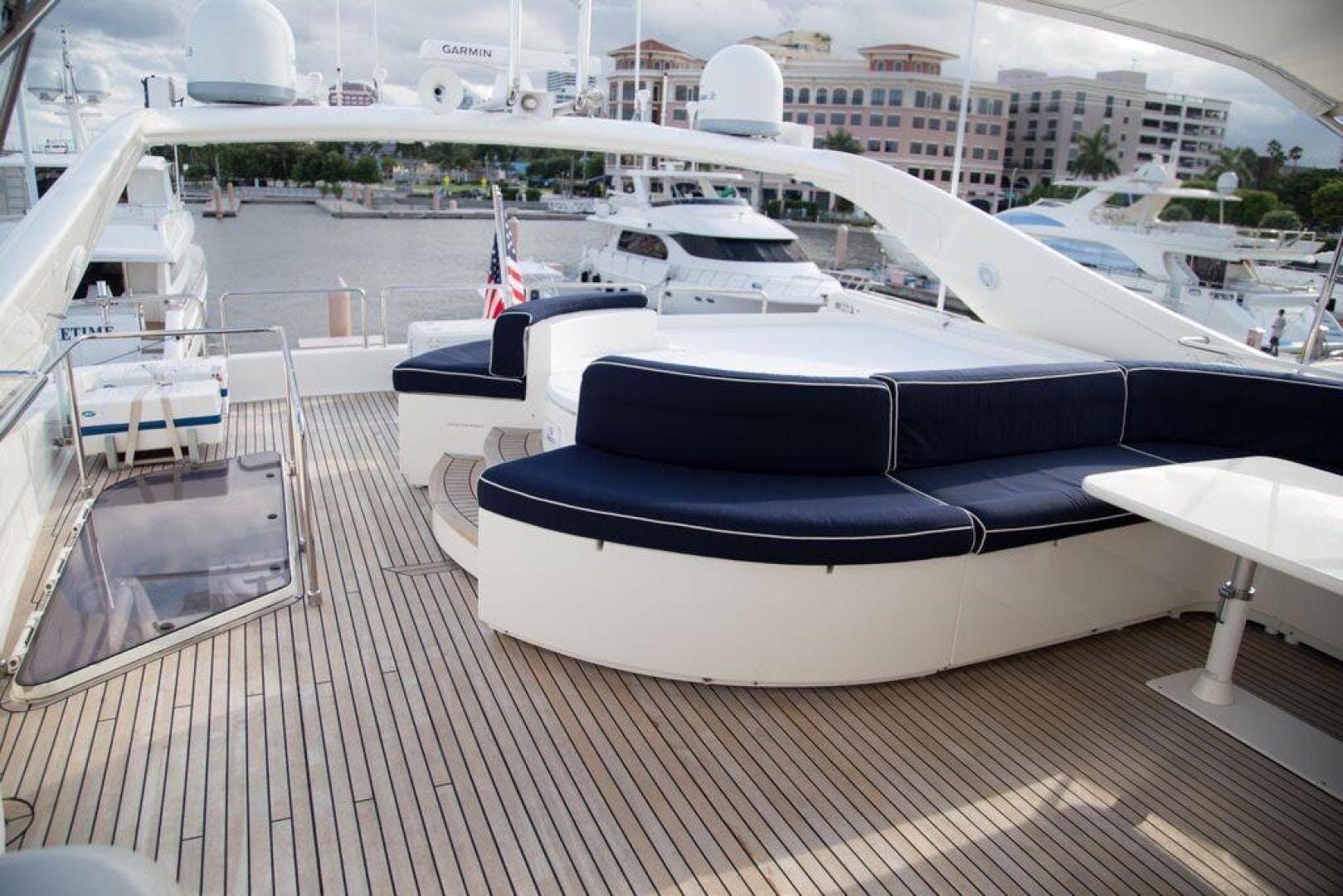 2003 Ferretti Yachts 94' 94 Flybridge Tomorrow We Ride | Picture 7 of 50