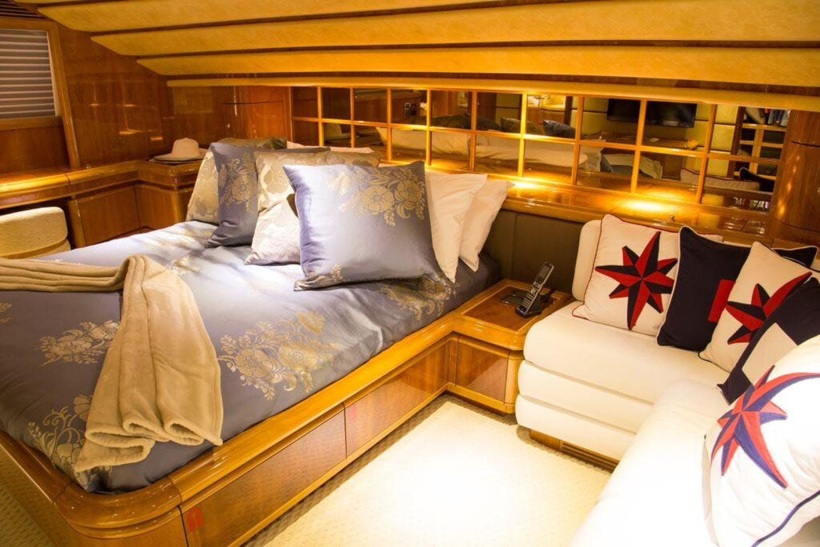 2003 Ferretti Yachts 94' 94 Flybridge Tomorrow We Ride | Picture 1 of 50