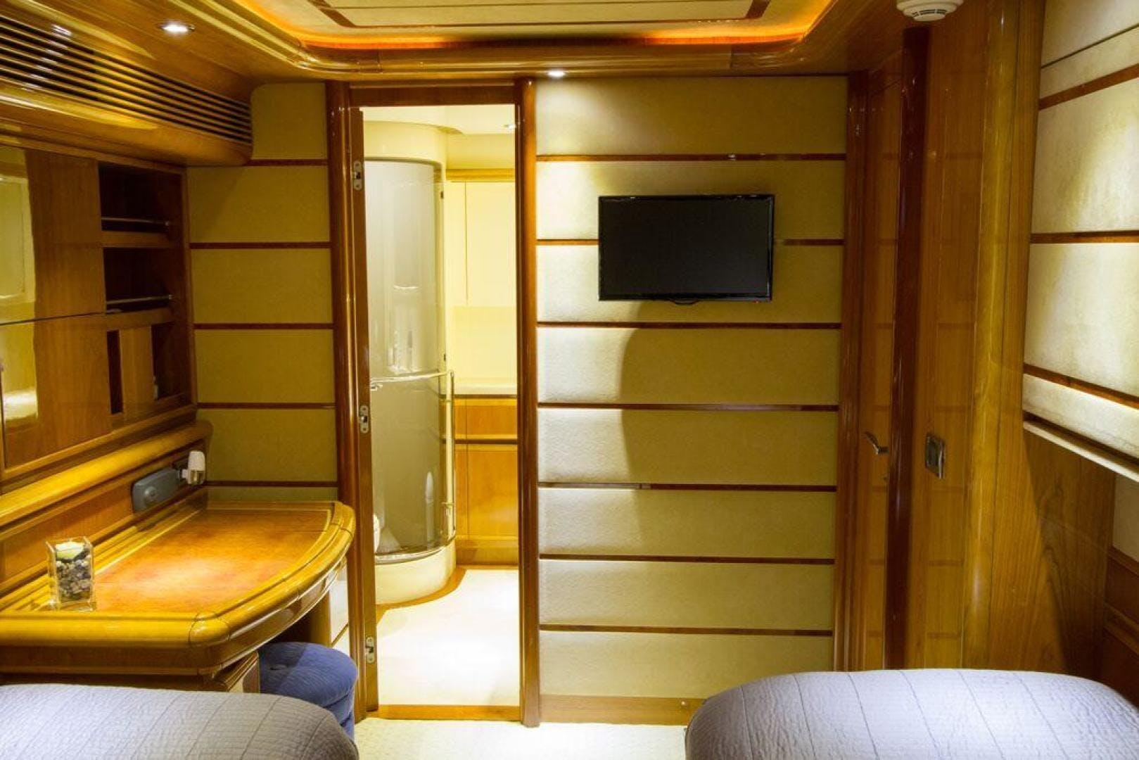 2003 Ferretti Yachts 94' 94 Flybridge Tomorrow We Ride | Picture 4 of 50