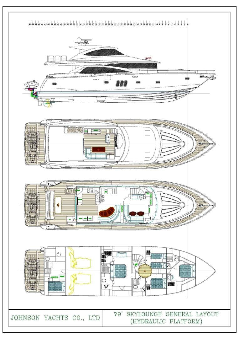 2022 Johnson 80' 80' Skylounge w/Hydraulic Platform  | Picture 1 of 17