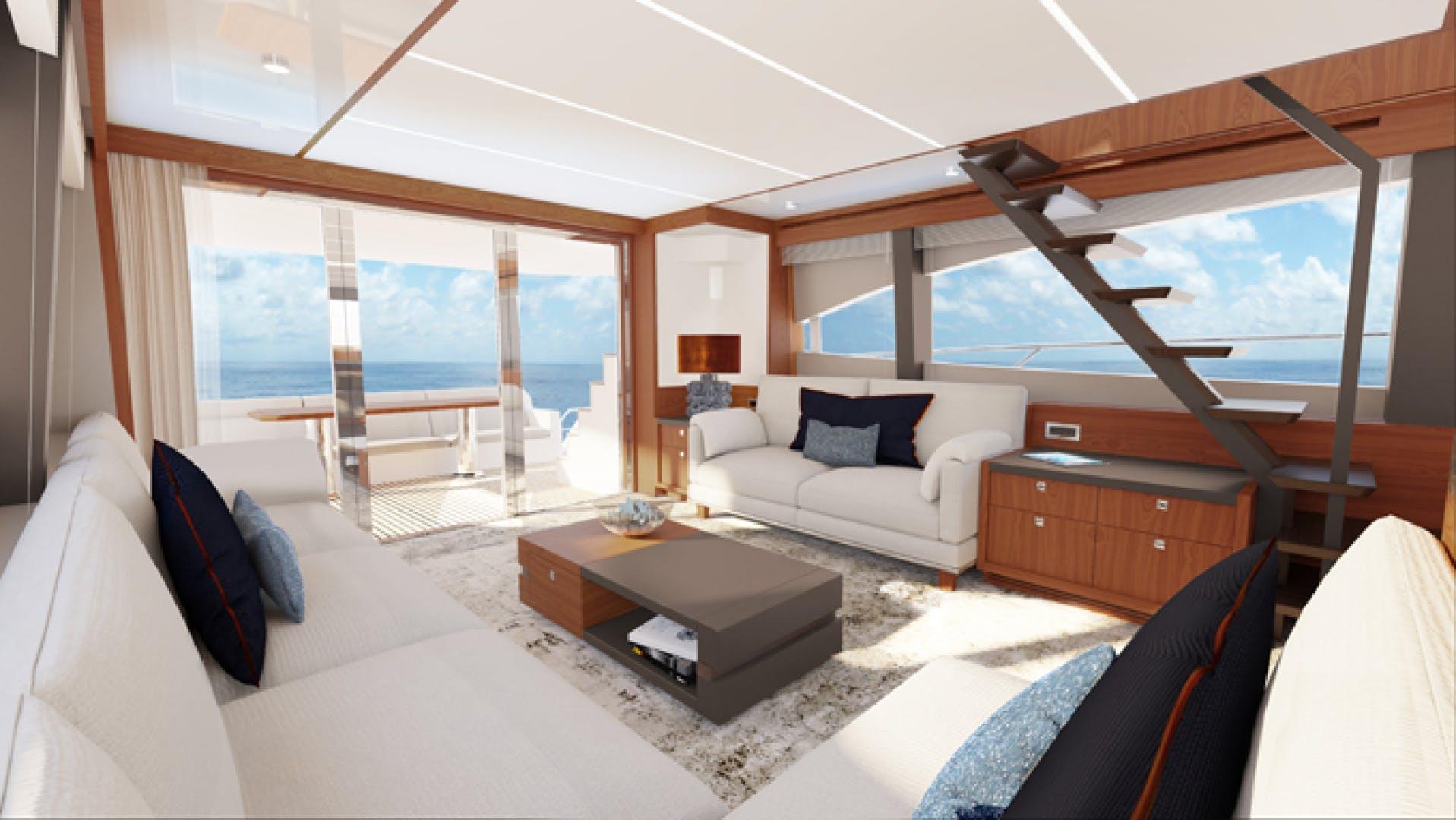 2022 Johnson 70' Flybridge Motor Yacht JOHNSON 70 FLYBRIDGE | Picture 2 of 11
