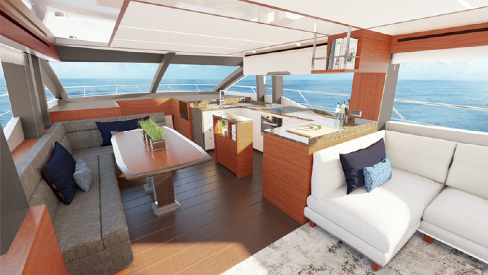 2022 Johnson 70' Flybridge Motor Yacht JOHNSON 70 FLYBRIDGE | Picture 3 of 11