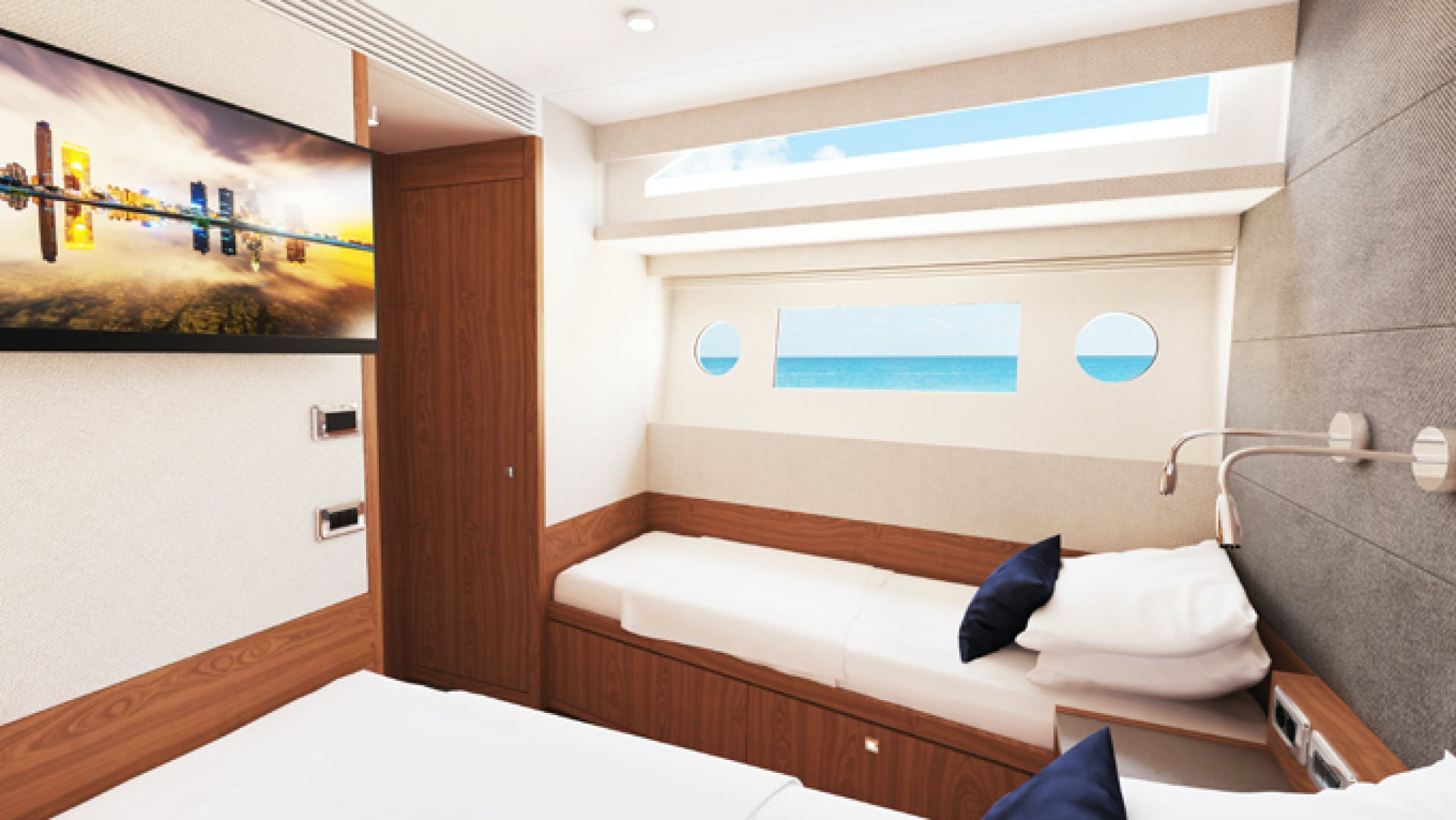 2022 Johnson 70' Flybridge Motor Yacht JOHNSON 70 FLYBRIDGE | Picture 1 of 11