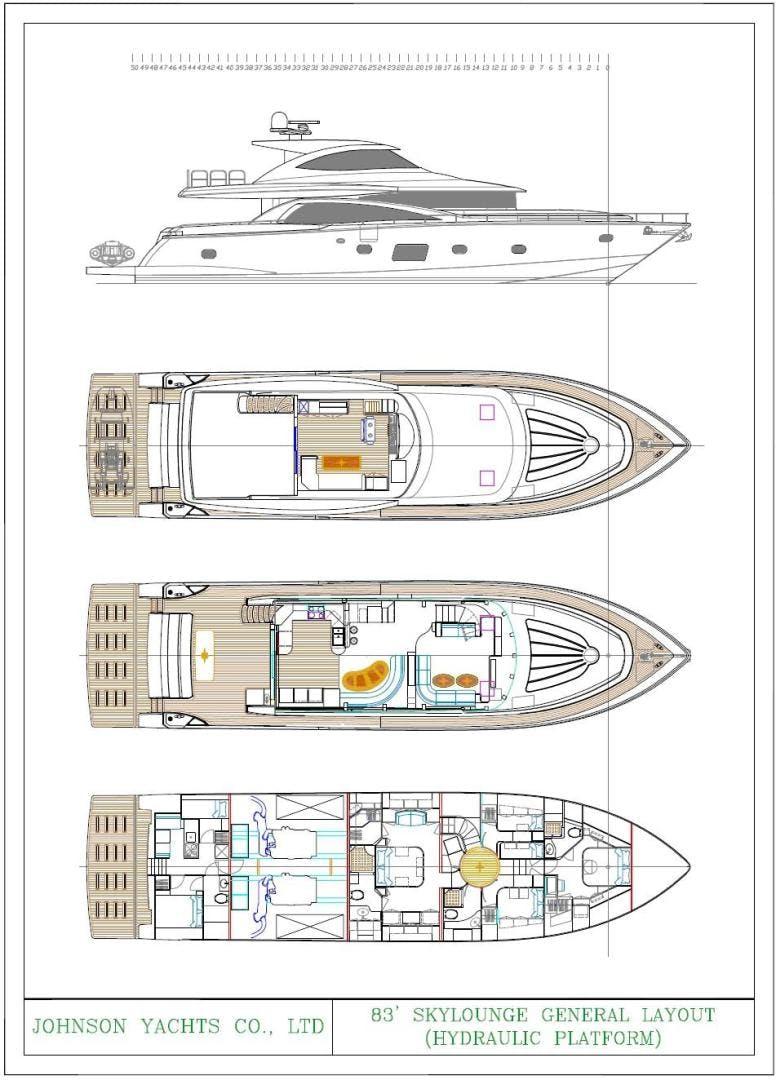 2022 Johnson 83' Skylounge w/Hydraulic Platform JOHNSON 83 SKYLOUNGE | Picture 1 of 17