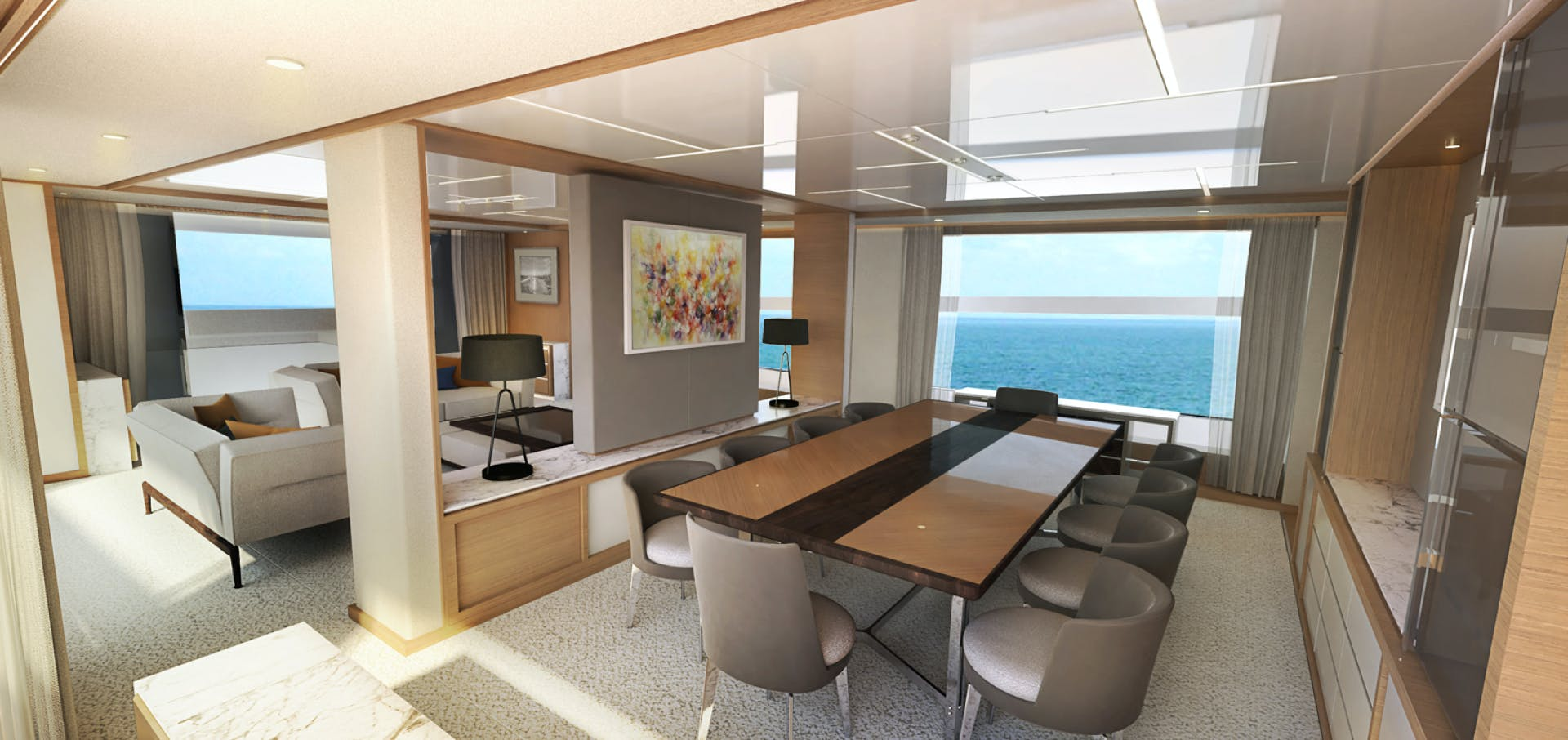 2022 Johnson 115' SKYLOUNGE w/FB w/ON-DECK MASTER JOHNSON 115 SKYLOUNGE  | Picture 4 of 23