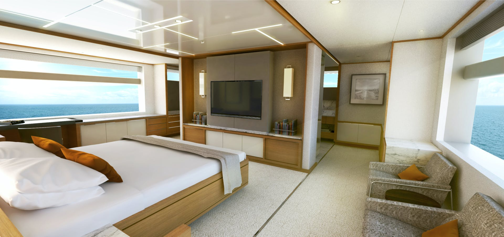 2022 Johnson 115' SKYLOUNGE w/FB w/ON-DECK MASTER JOHNSON 115 SKYLOUNGE  | Picture 1 of 23
