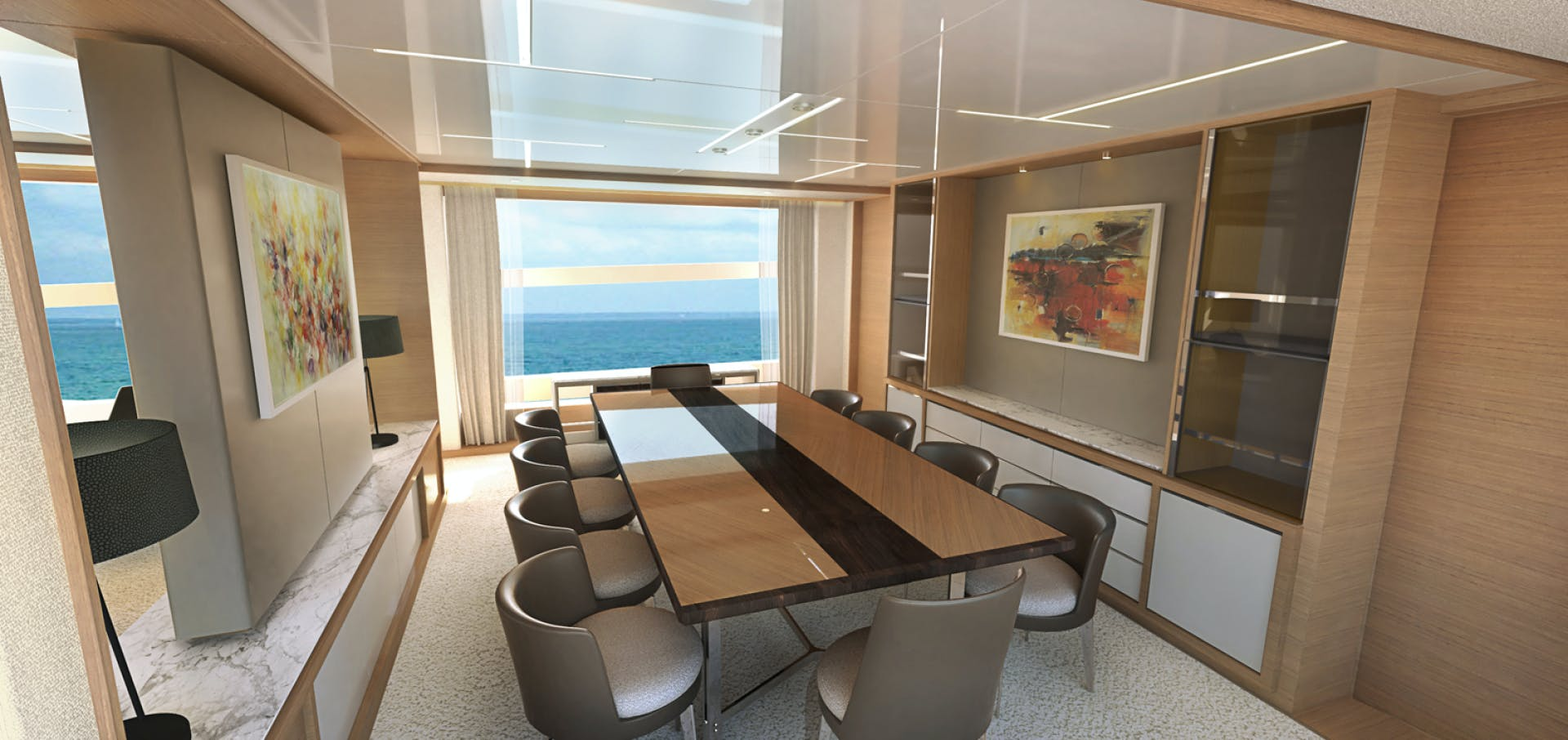 2022 Johnson 115' SKYLOUNGE w/FB w/ON-DECK MASTER JOHNSON 115 SKYLOUNGE  | Picture 5 of 23
