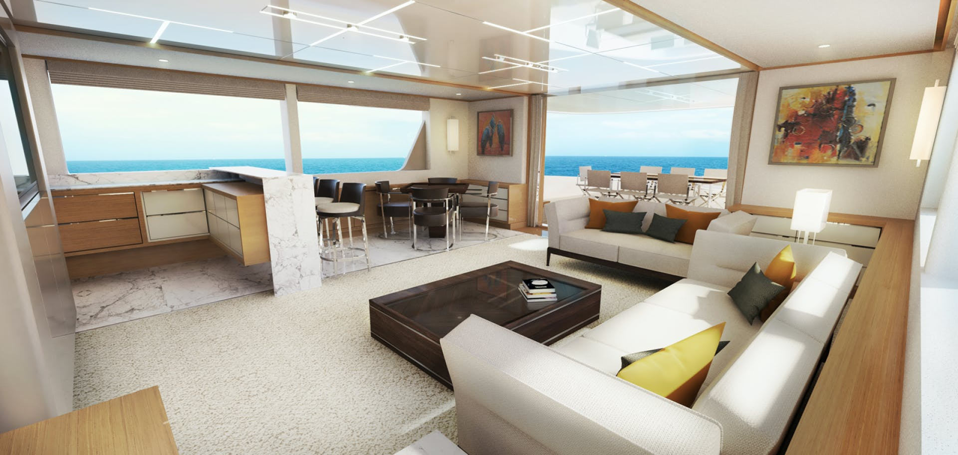 2022 Johnson 115' SKYLOUNGE w/FB w/ON-DECK MASTER JOHNSON 115 SKYLOUNGE  | Picture 6 of 23