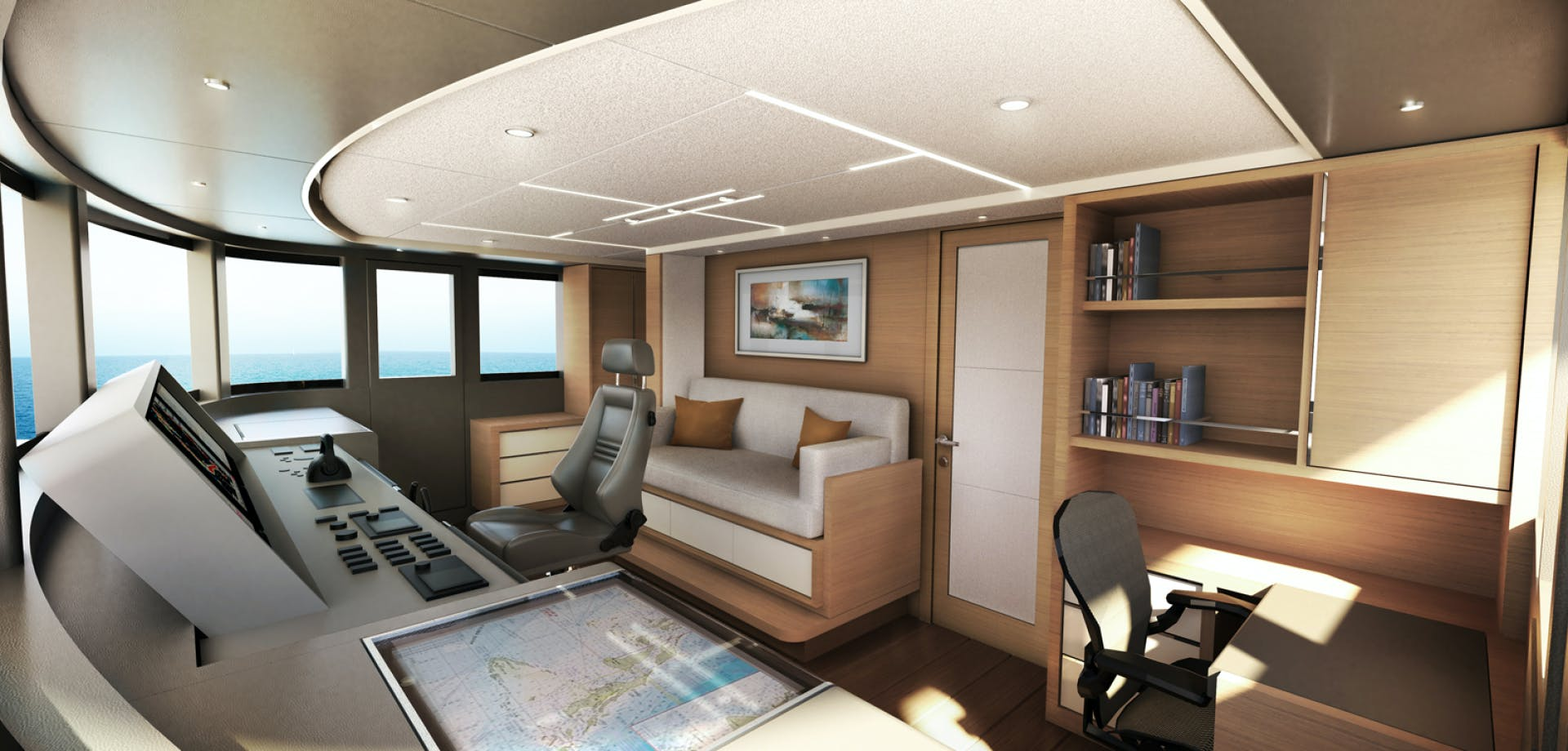 2022 Johnson 115' SKYLOUNGE w/FB w/ON-DECK MASTER JOHNSON 115 SKYLOUNGE  | Picture 8 of 23