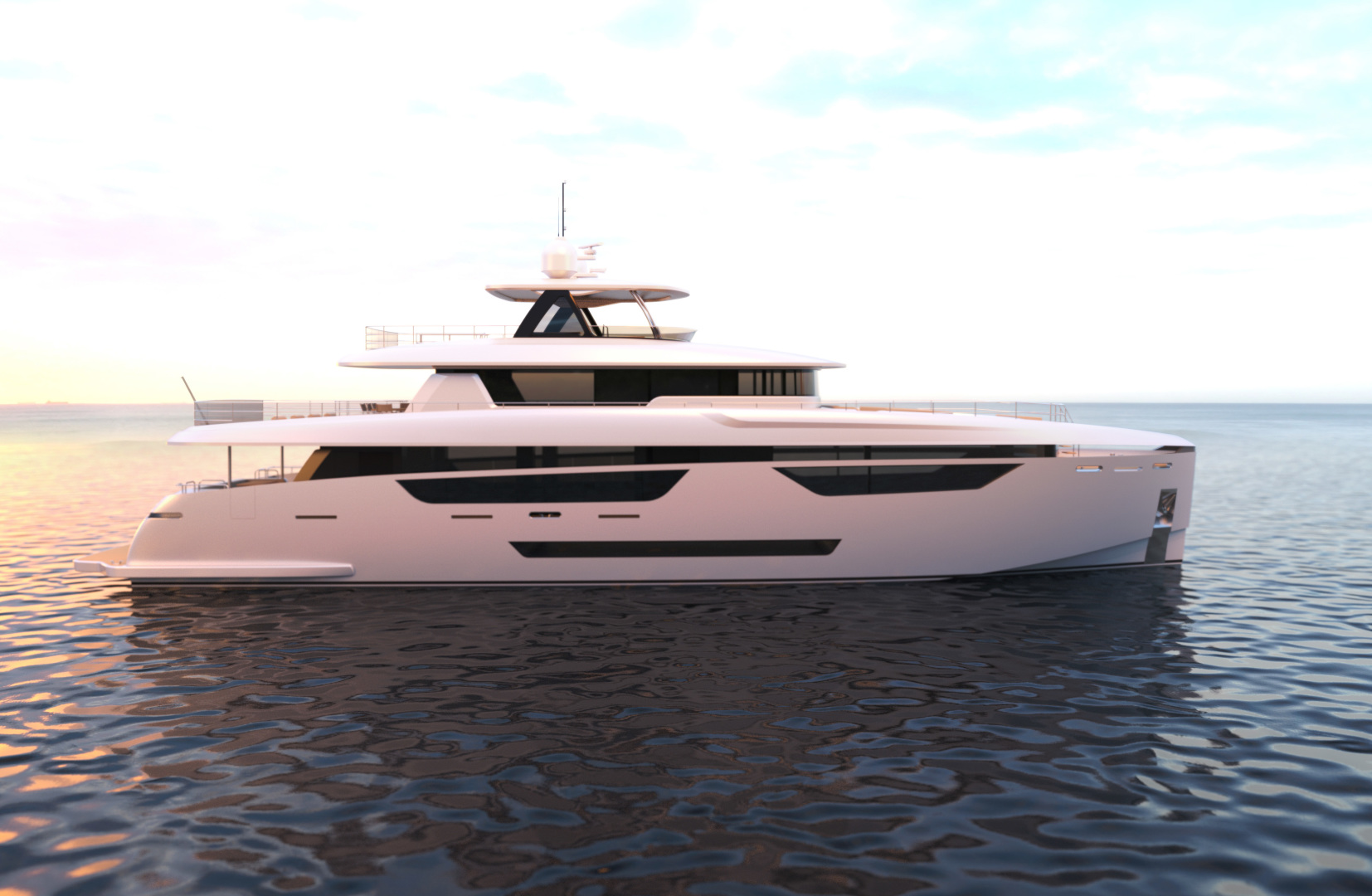 "2022 Johnson 115' SKYLOUNGE w/FB w/ON-DECK MASTER ""JOHNSON 115 SKYLOUNGE """