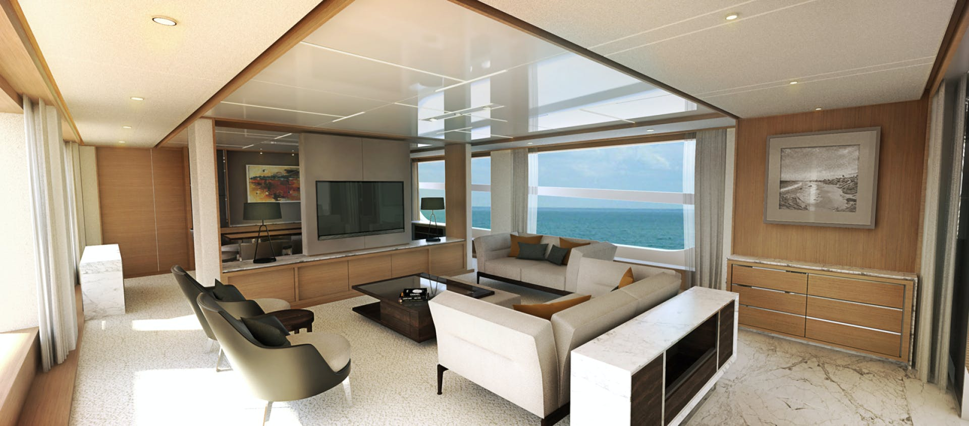2022 Johnson 115' SKYLOUNGE w/FB w/ON-DECK MASTER JOHNSON 115 SKYLOUNGE  | Picture 3 of 23