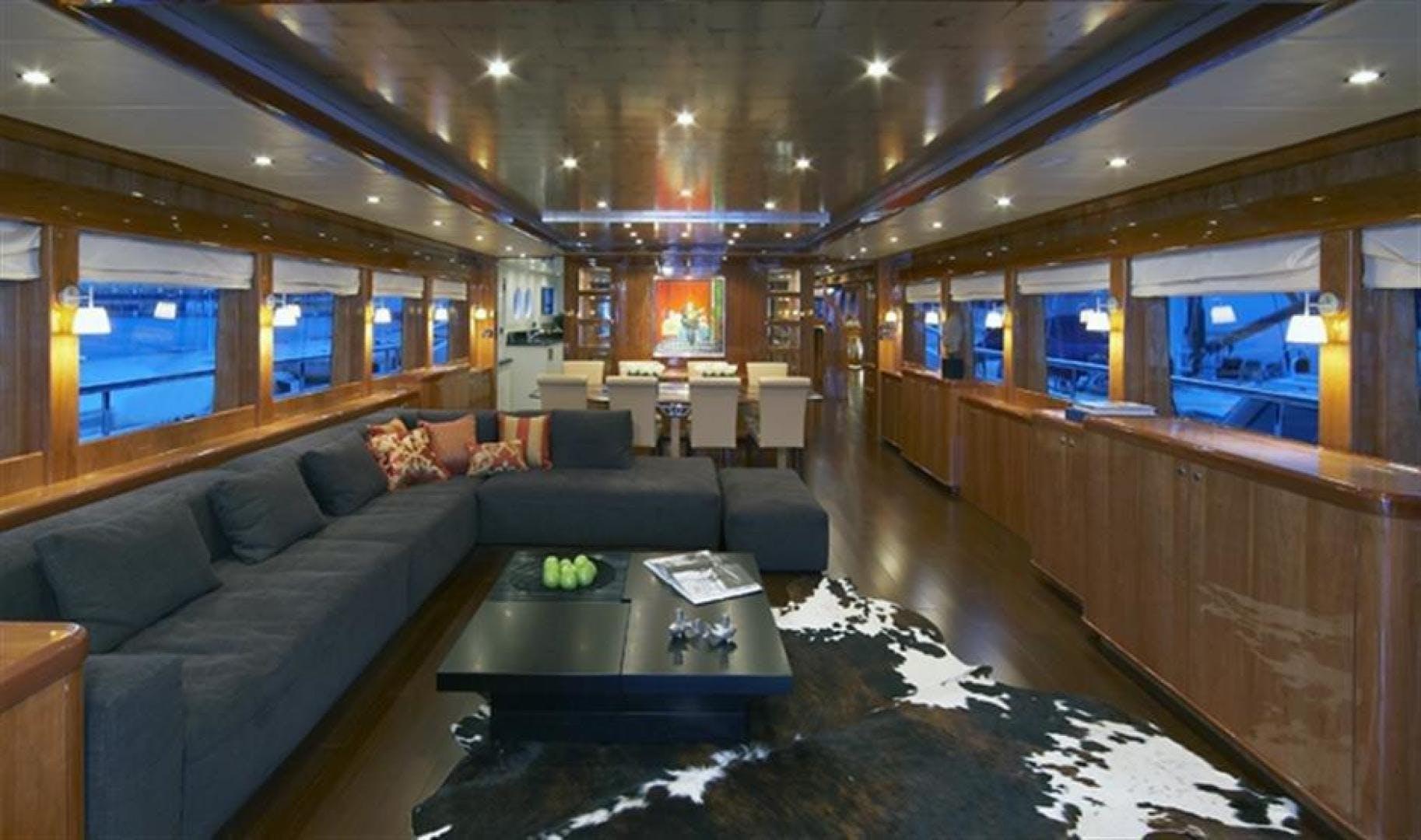 2022 Johnson 110' 110' Flybridge w/On-Deck Master JOHNSON 110 FLYBRIDGE | Picture 2 of 27