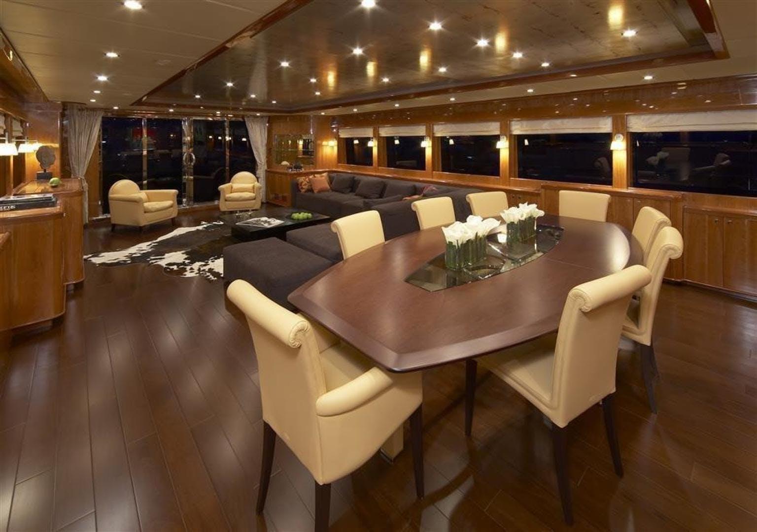 2022 Johnson 110' 110' Flybridge w/On-Deck Master JOHNSON 110 FLYBRIDGE | Picture 3 of 27