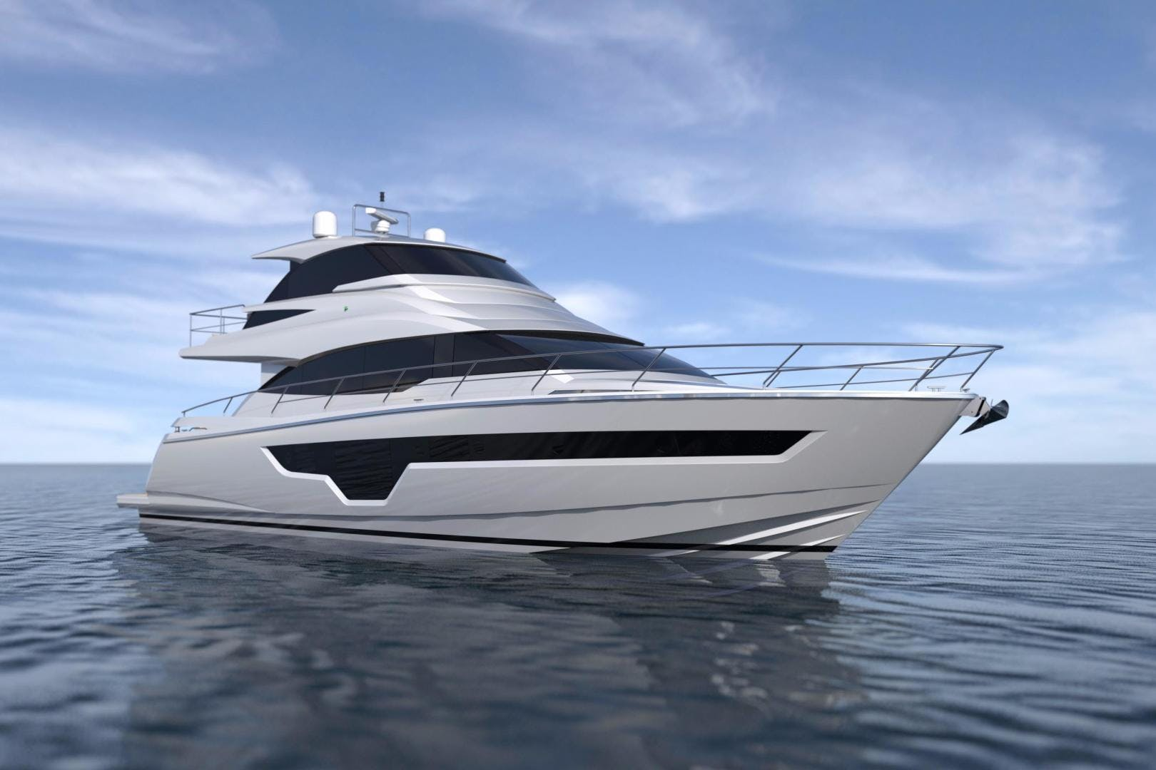 2020 Johnson 70' Skylounge Motor Yacht JOHNSON 70 SKYLOUNGE | Picture 3 of 19