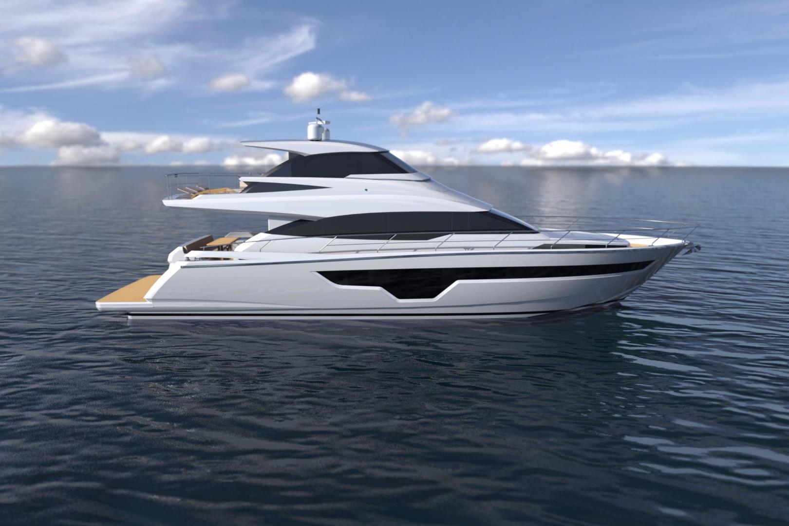 """2020 Johnson 70' Skylounge Motor Yacht """"JOHNSON 70 SKYLOUNGE"""""""