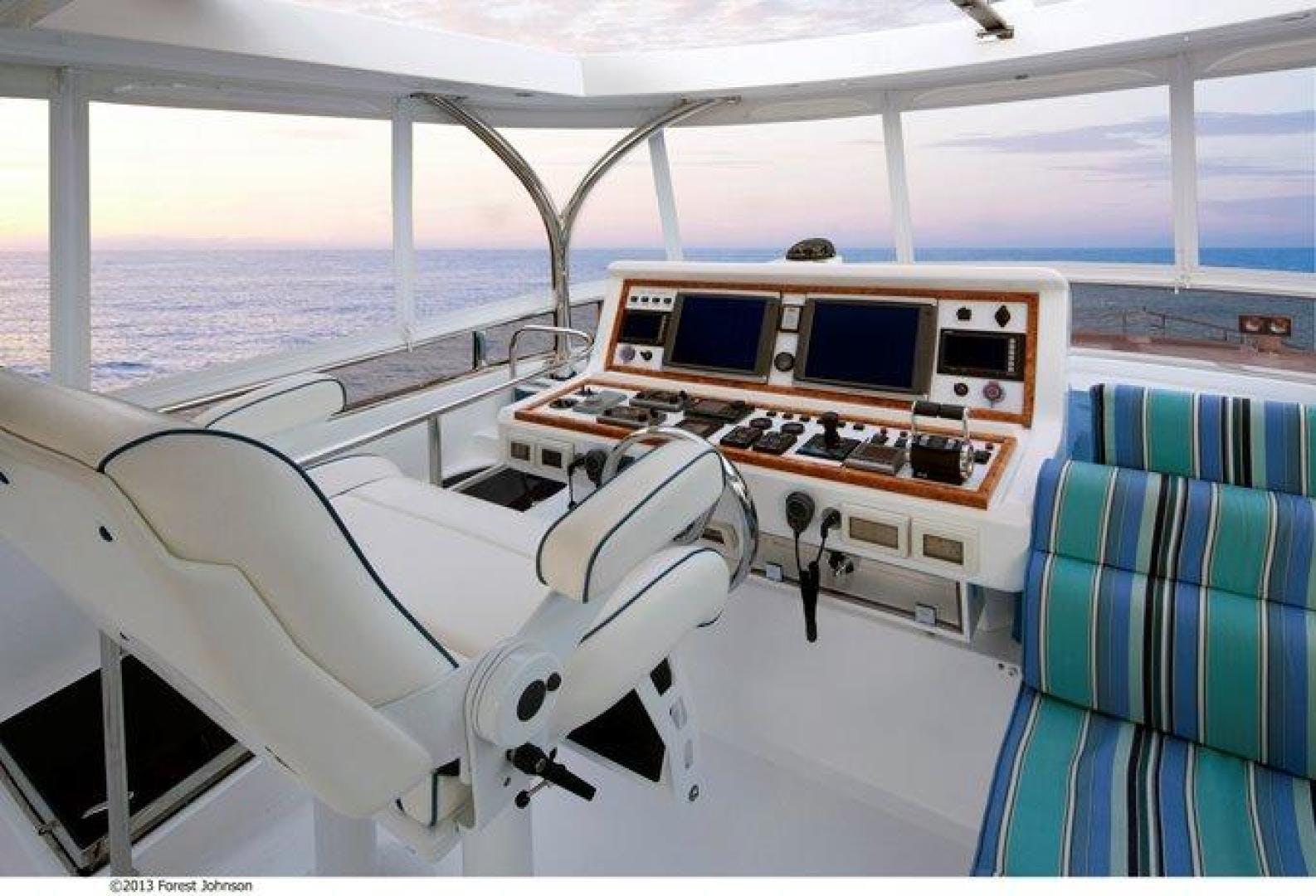2022 Johnson 80' Flybridge w/Fishing Cockpit JOHNSON 80 FLYBRIDGE | Picture 1 of 13