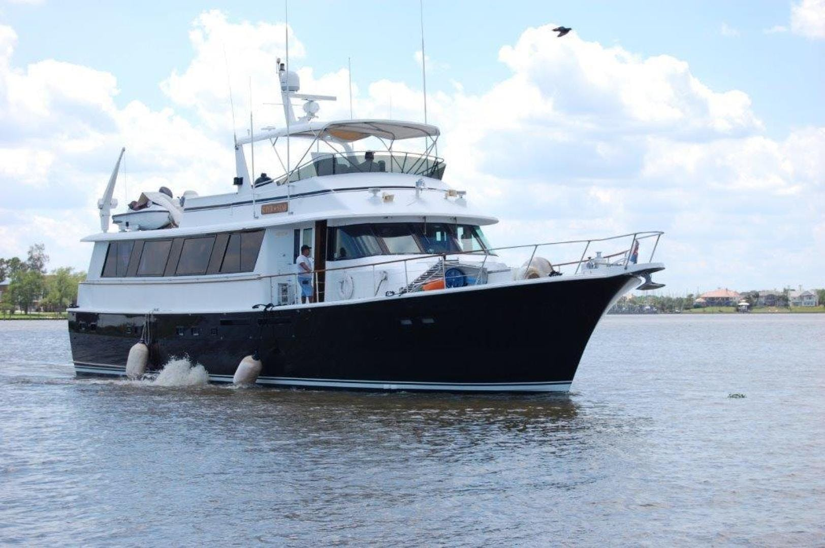 1985 Hatteras 72' 72 Motor Yacht Super Star   Picture 3 of 60