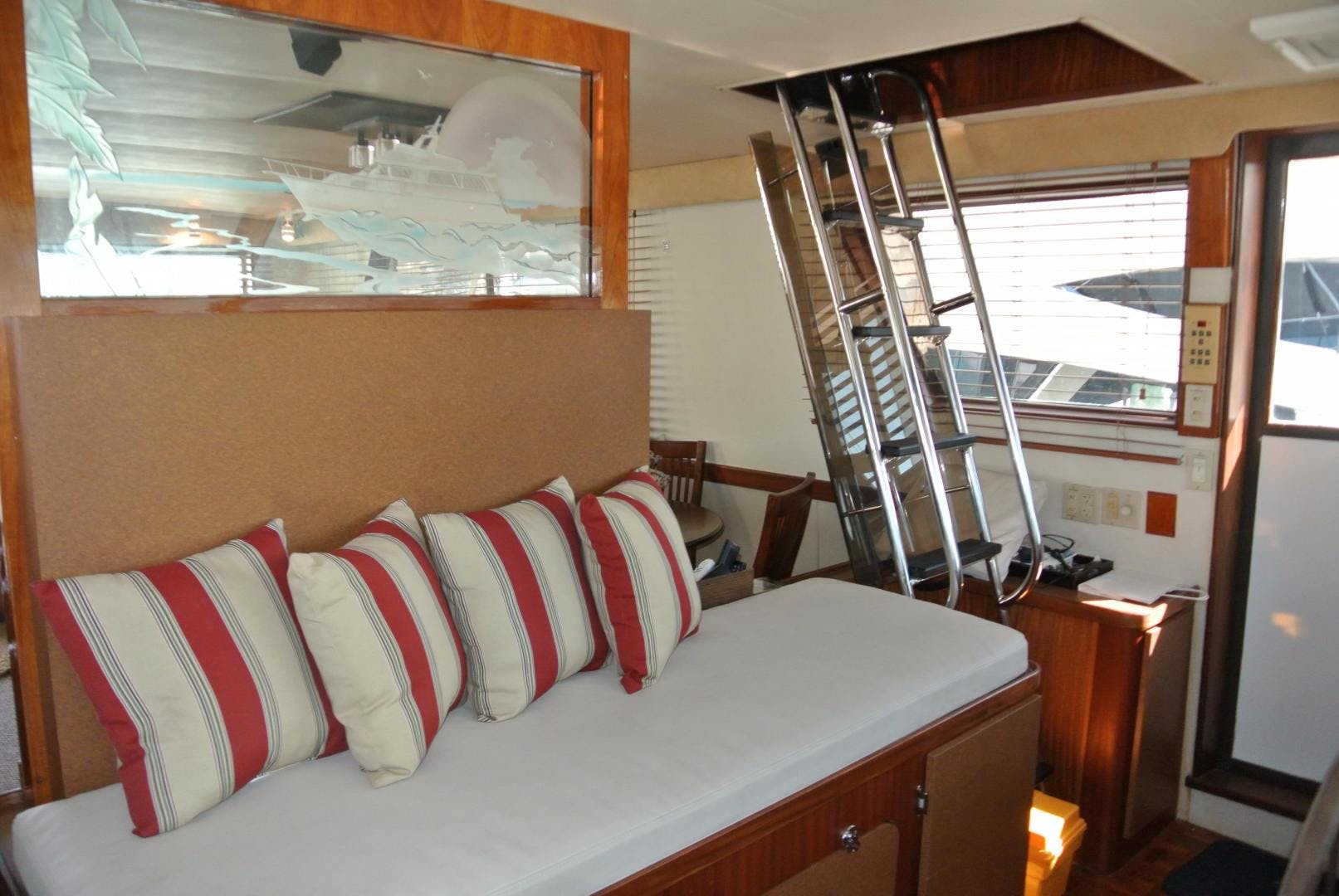 1988 Hatteras 67' 67 Cockpit Motor Yacht Lady Encore | Picture 2 of 46