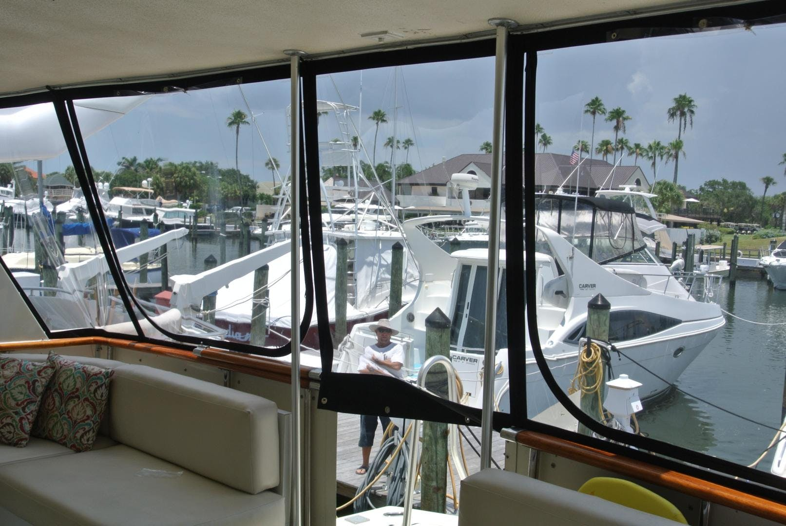 1988 Hatteras 67' 67 Cockpit Motor Yacht Lady Encore | Picture 1 of 46