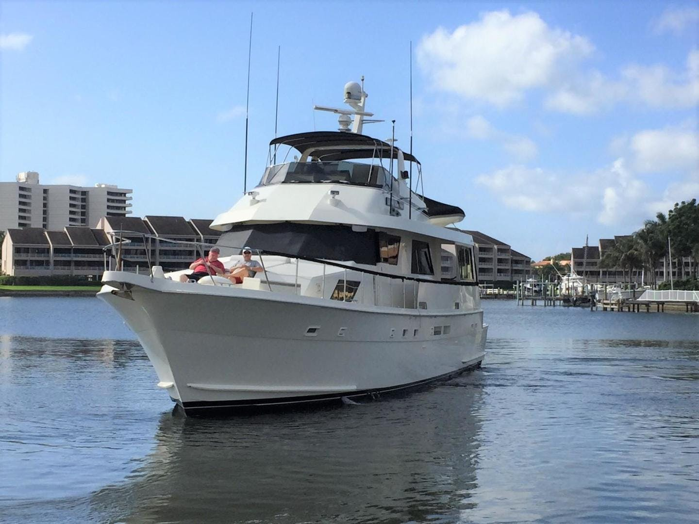 1988 Hatteras 67' 67 Cockpit Motor Yacht Lady Encore | Picture 4 of 46