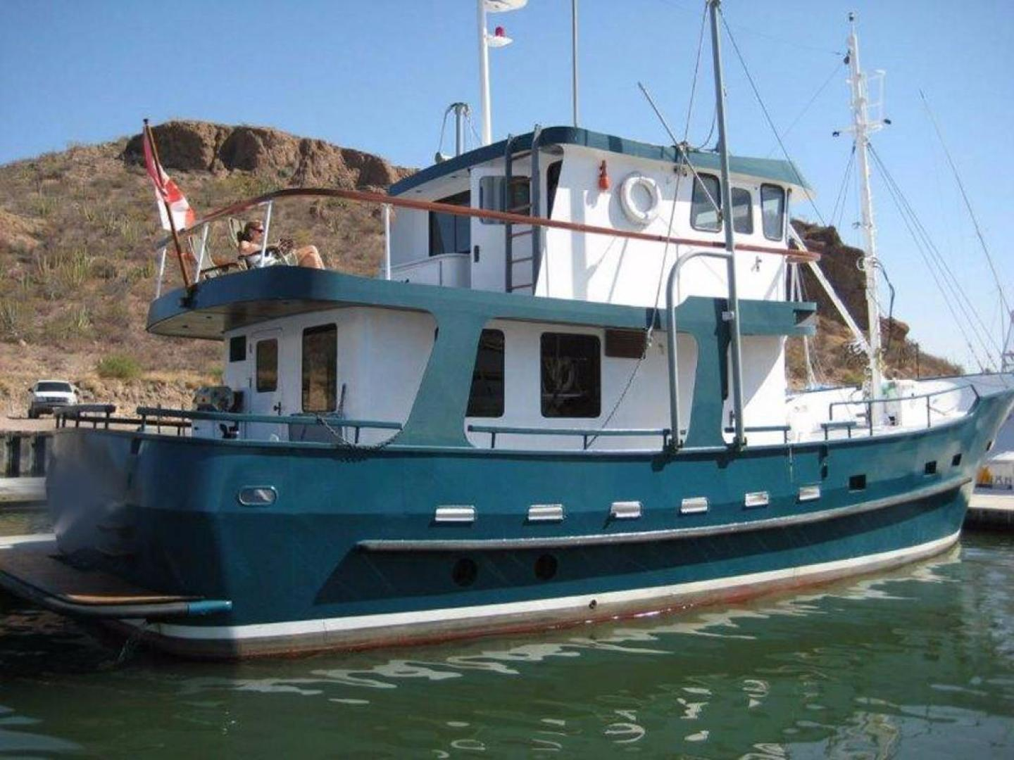 "1996 Custom 58' North Sea Trawler ""Banshee"""