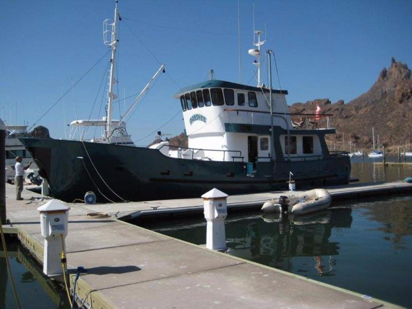1996 Custom 58' North Sea Trawler Banshee | Picture 4 of 39