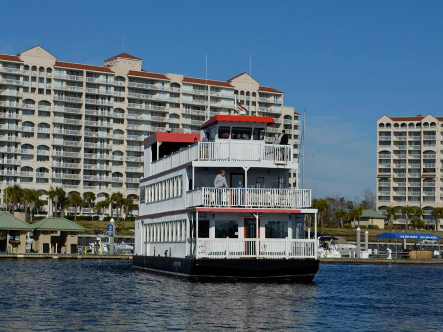 1996 Custom 64' Triple Deck Dinner River Boat Barefoot Princess | Picture 4 of 28