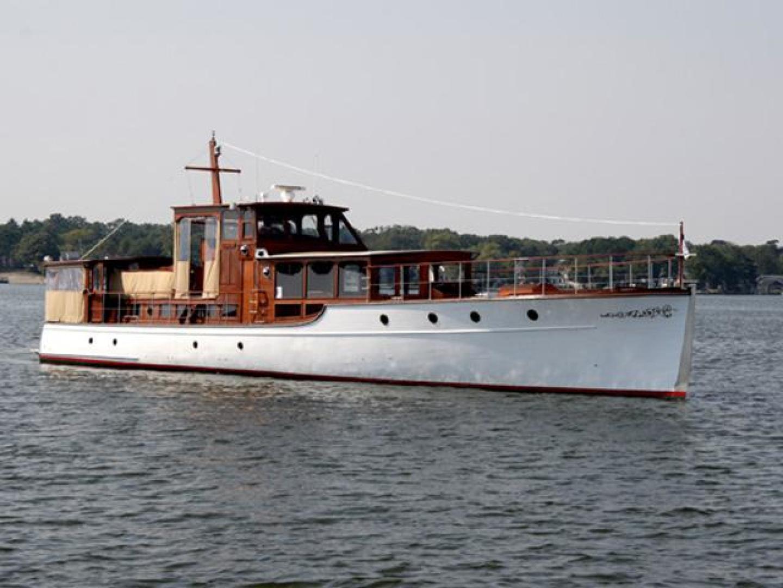 "1928 Custom 75' 75 Commuter Yacht ""Cigarette"""