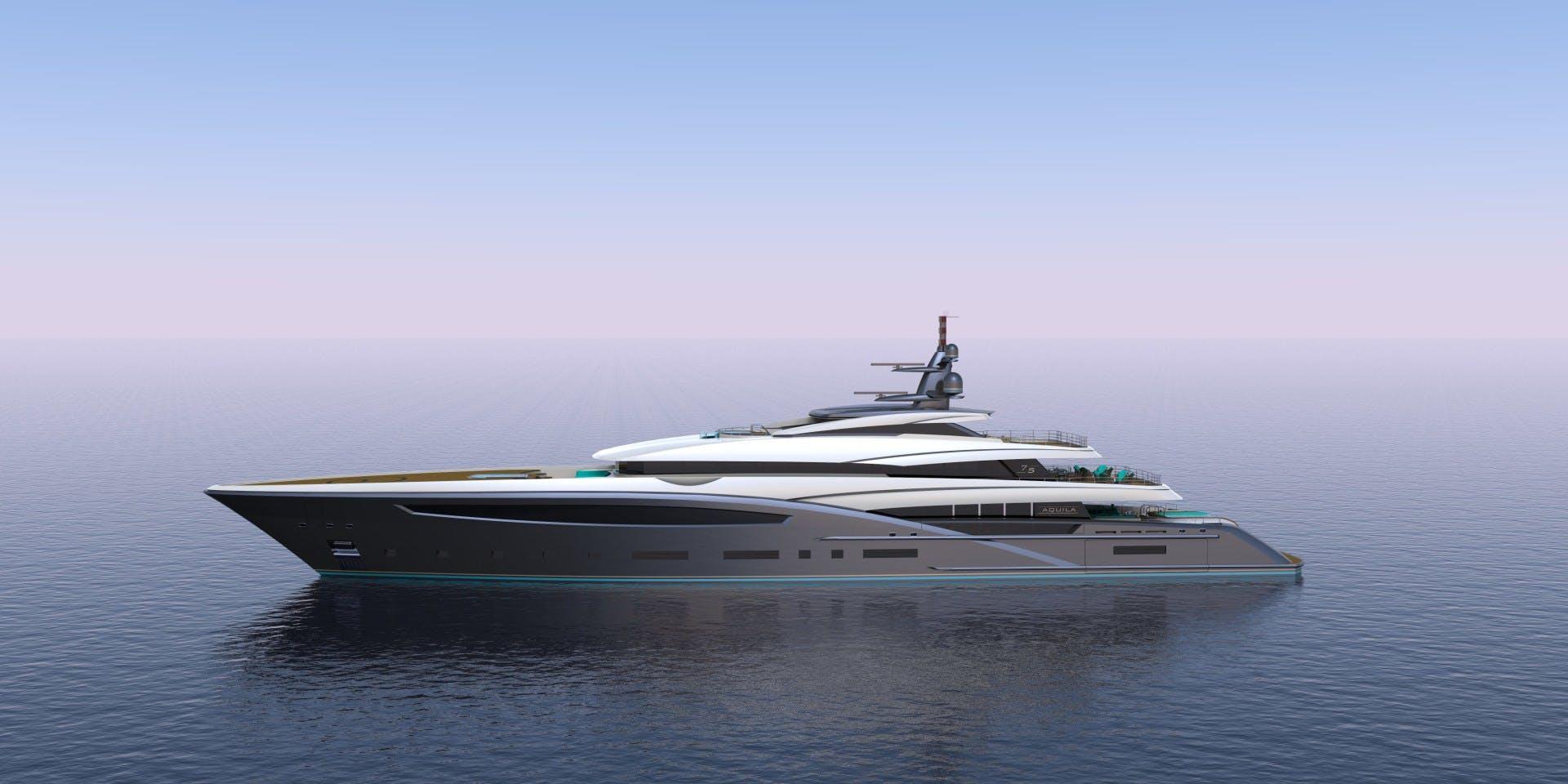 2023 Custom 246' Motor Yacht CUSTOM 75M | Picture 1 of 21