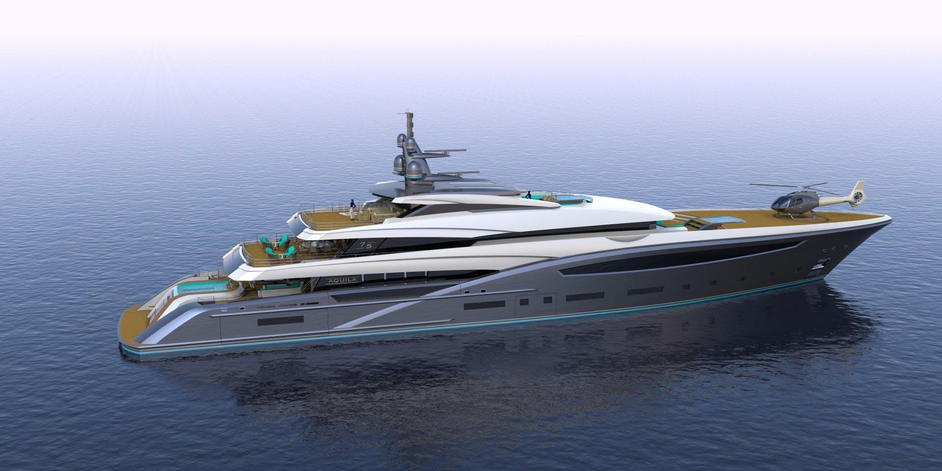 2023 Custom 246' Motor Yacht CUSTOM 75M | Picture 3 of 21