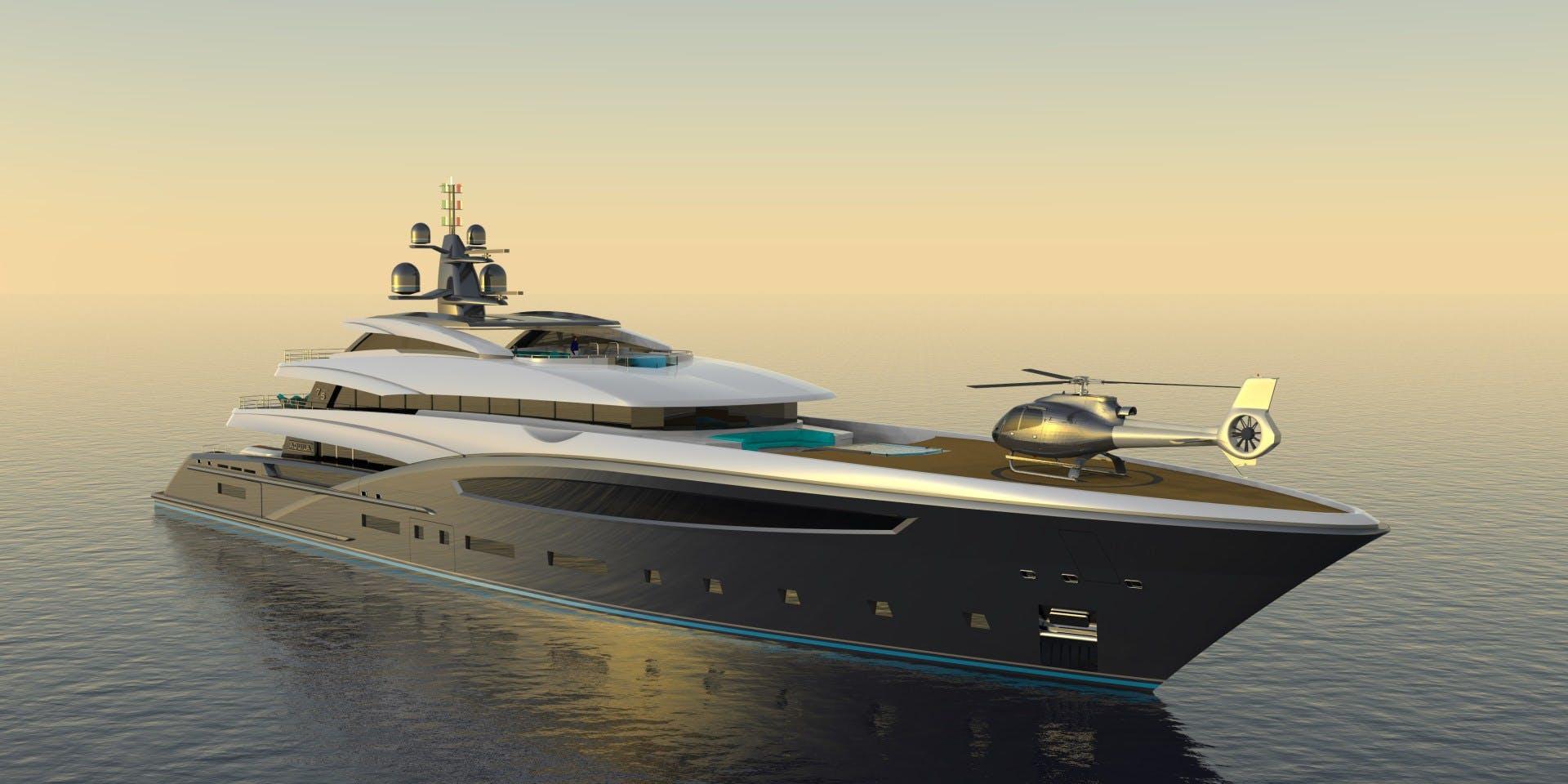 2023 Custom 246' Motor Yacht CUSTOM 75M | Picture 2 of 21