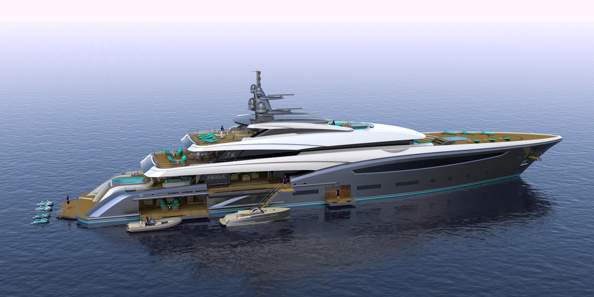 2023 Custom 246' Motor Yacht CUSTOM 75M | Picture 4 of 21