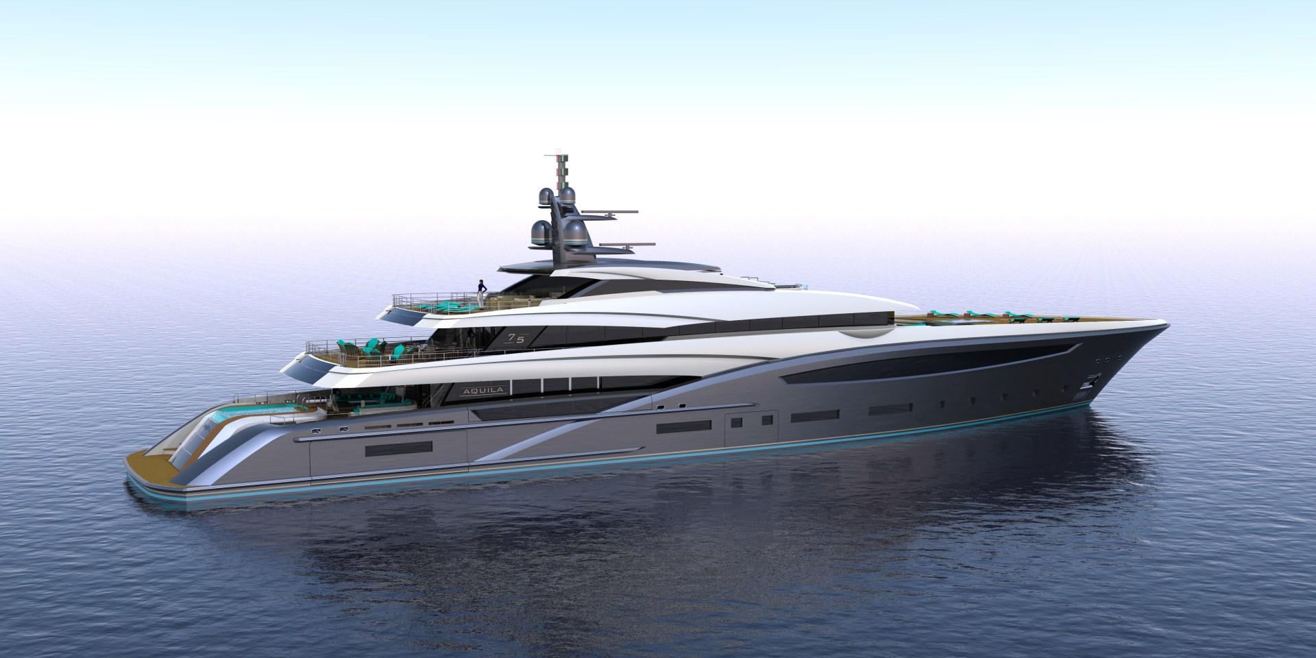 "2023 Custom 246' Motor Yacht ""CUSTOM 75M"""