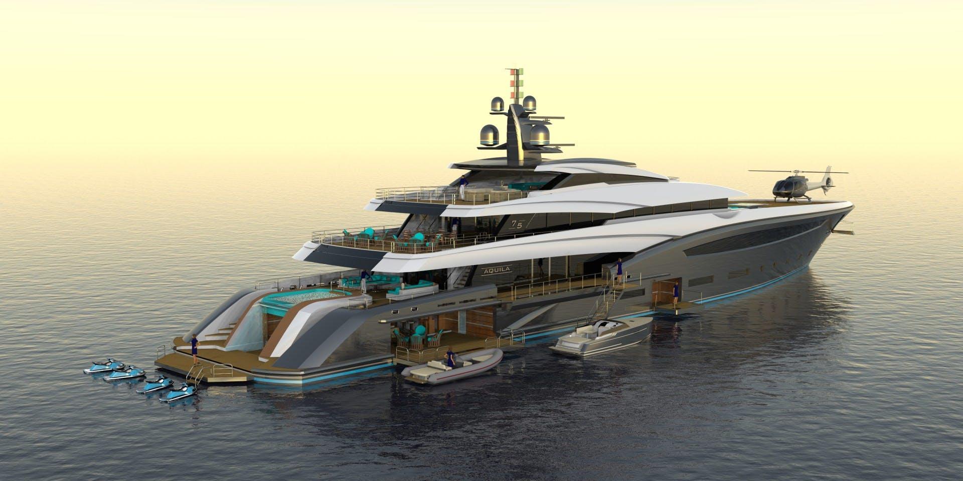 2023 Custom 246' Motor Yacht CUSTOM 75M | Picture 7 of 21