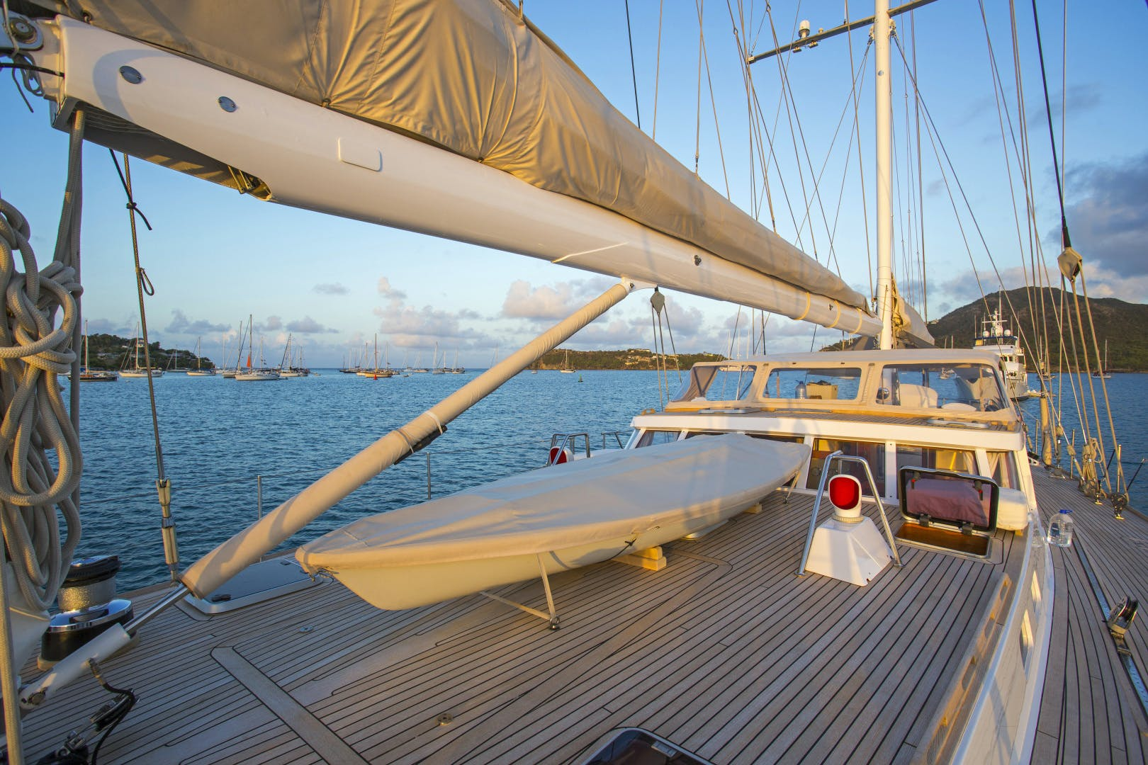 1989 Giorgetti & Magrini 100' Custom Cruising Ketch JUPITER | Picture 7 of 24