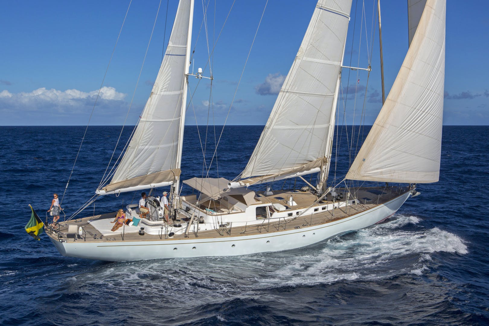 1989 Giorgetti & Magrini 100' Custom Cruising Ketch JUPITER | Picture 6 of 24