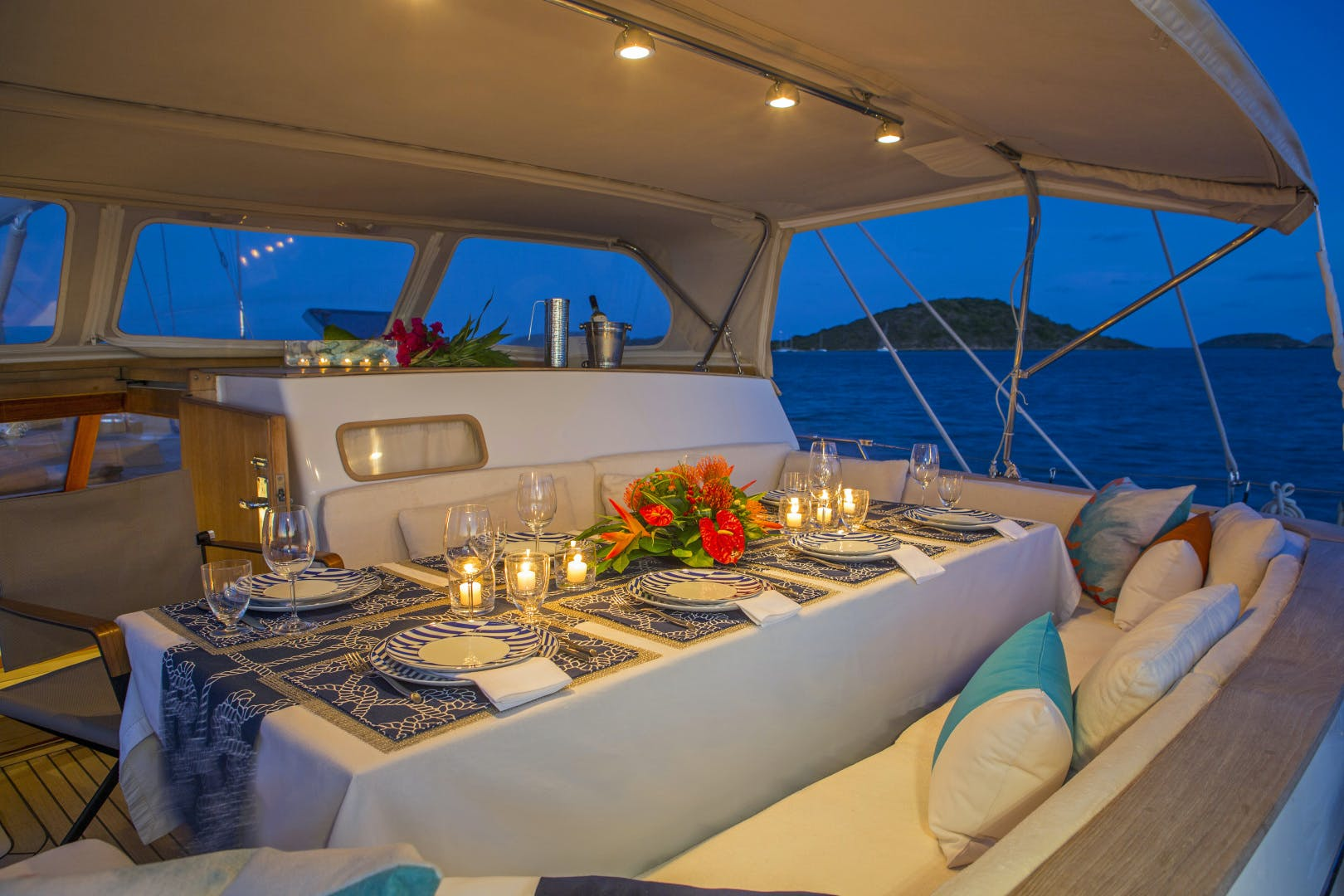 1989 Giorgetti & Magrini 100' Custom Cruising Ketch JUPITER | Picture 2 of 24