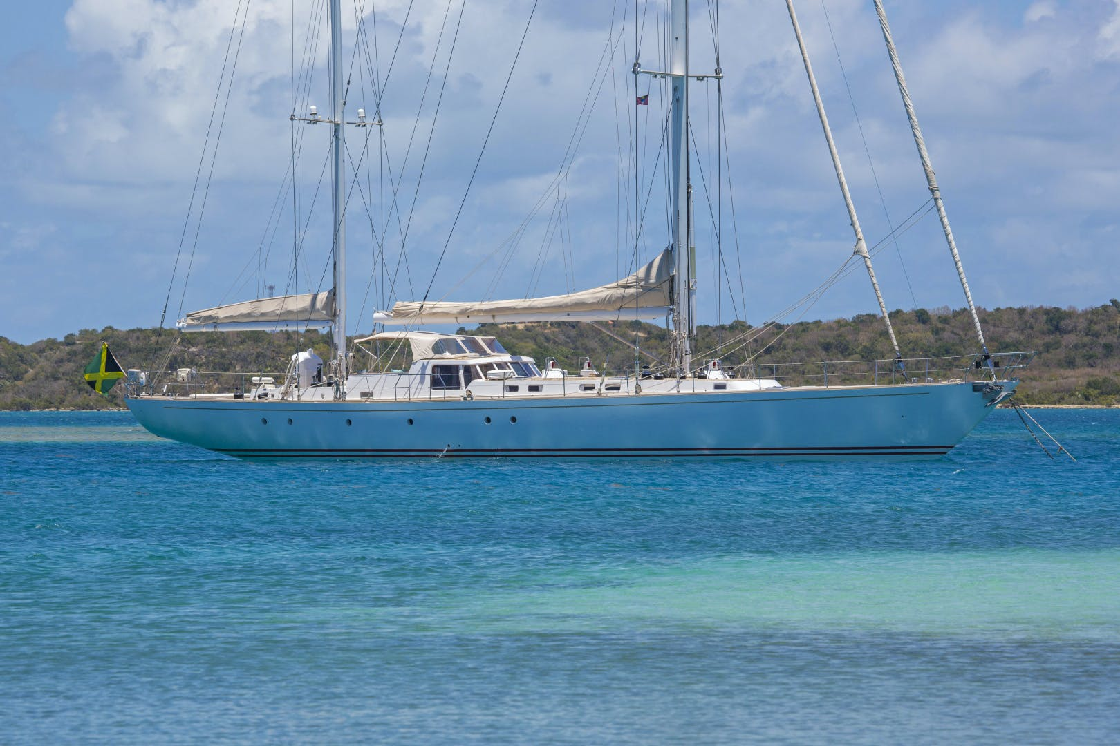 1989 Giorgetti & Magrini 100' Custom Cruising Ketch JUPITER | Picture 5 of 24