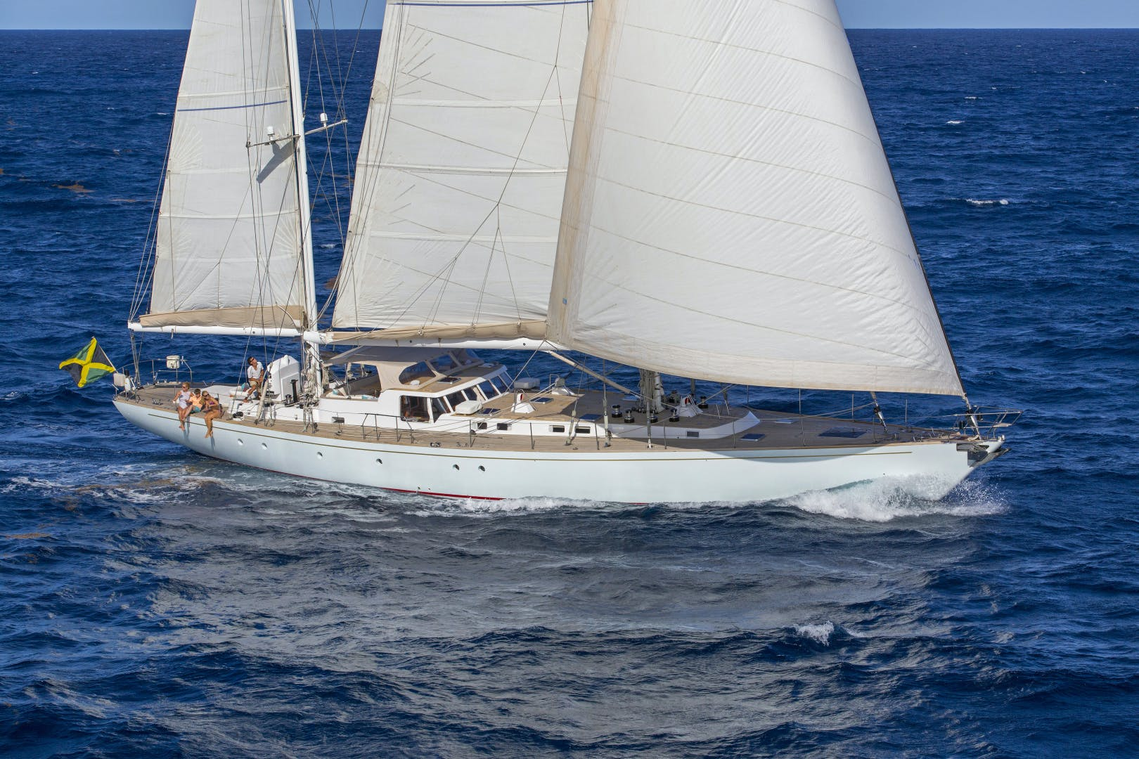 1989 Giorgetti & Magrini 100' Custom Cruising Ketch JUPITER | Picture 1 of 24